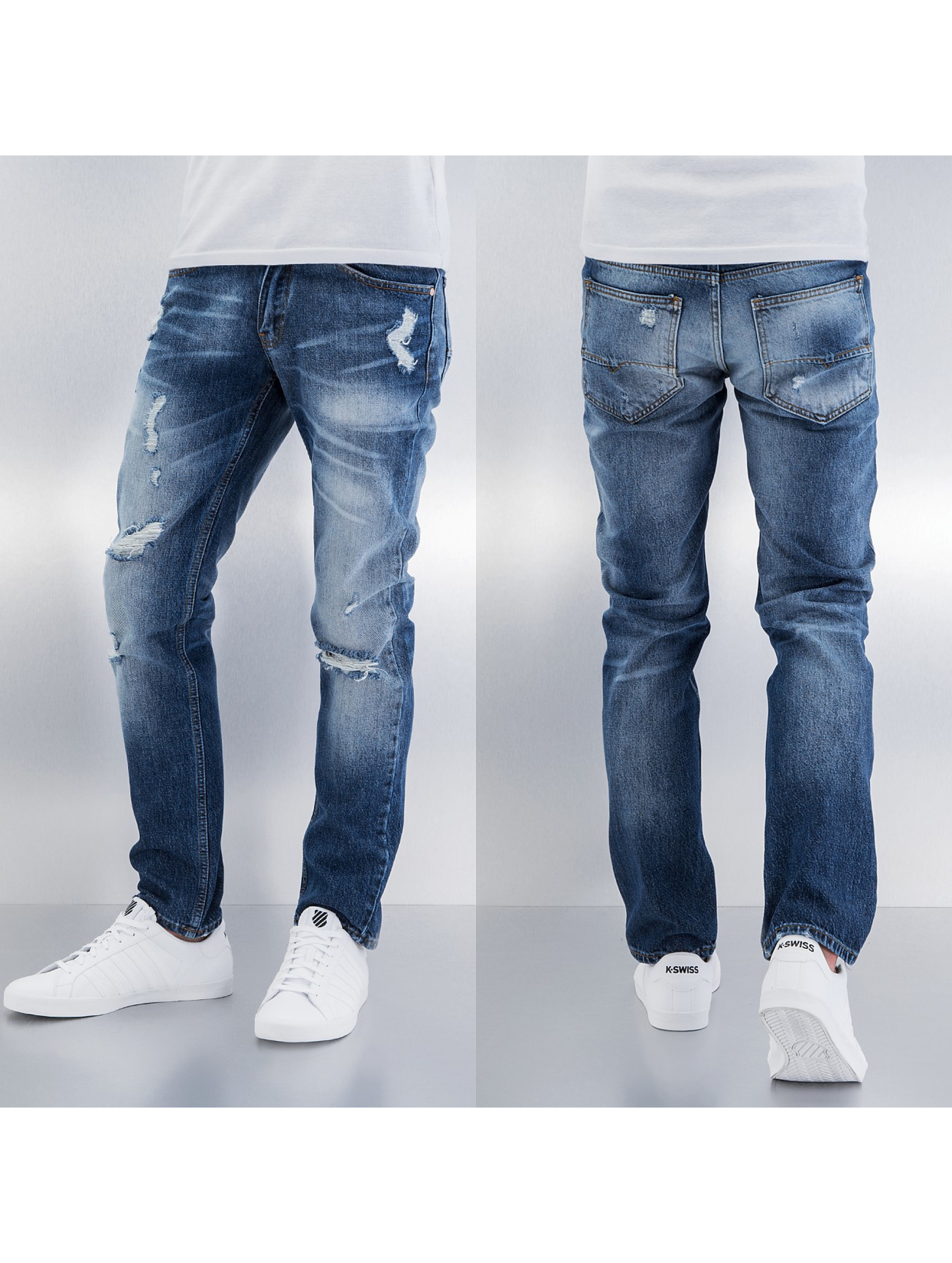 Straight Fit Jeans Tommy in blau