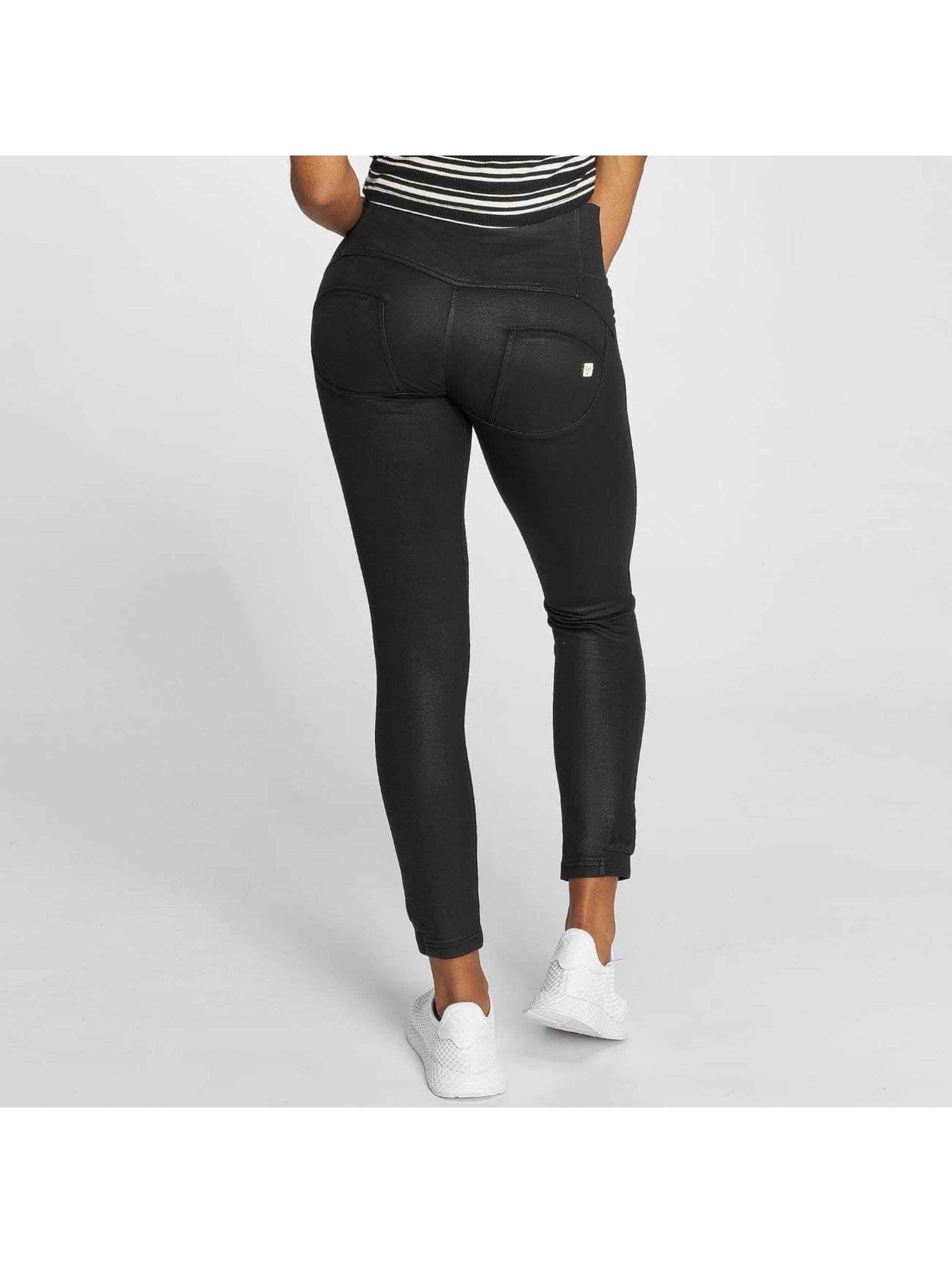Freddy Jean taille haute Pantalone Lungo noir