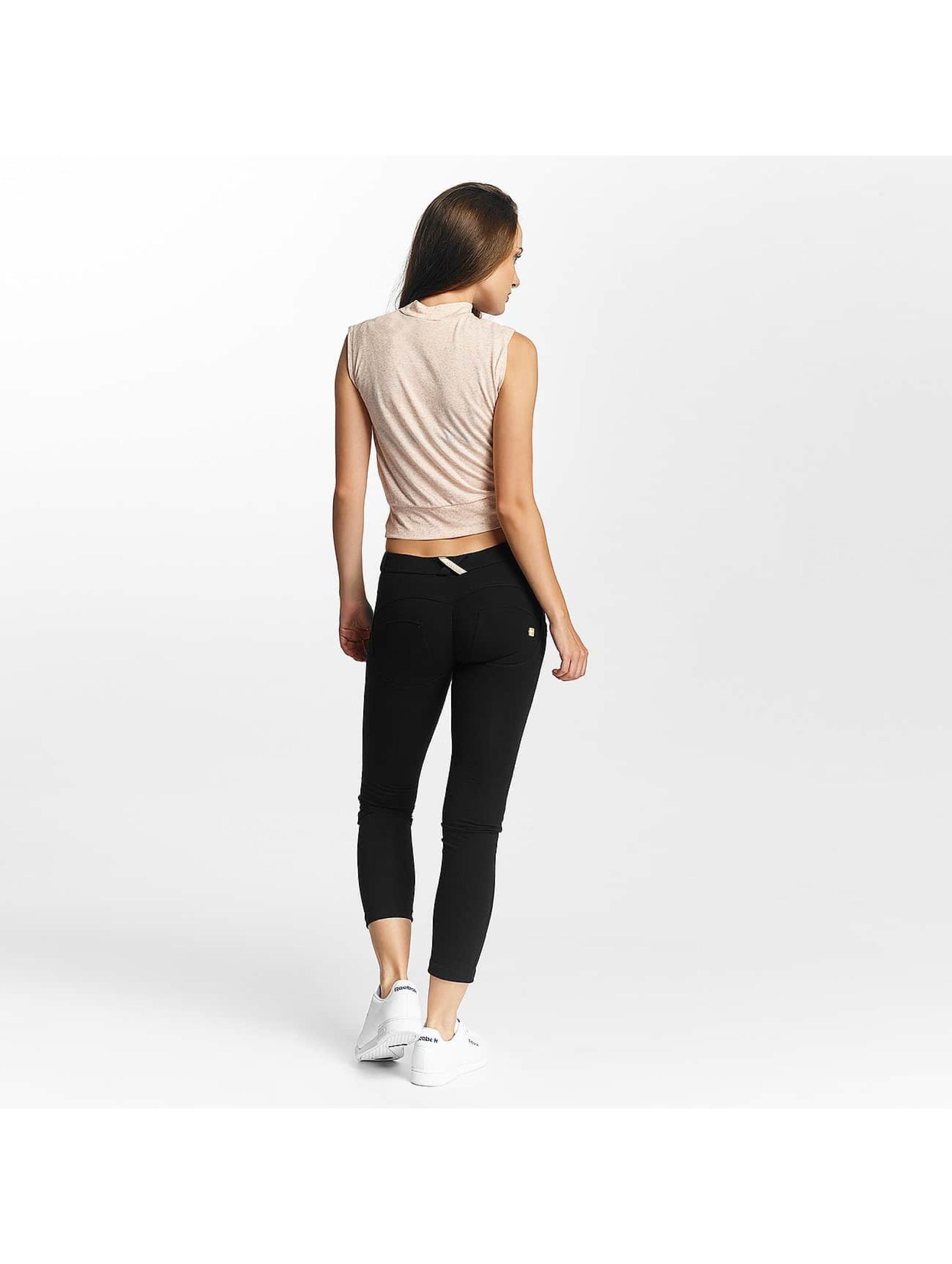 Freddy Skinny Jeans 7/8 Regular Waist čern