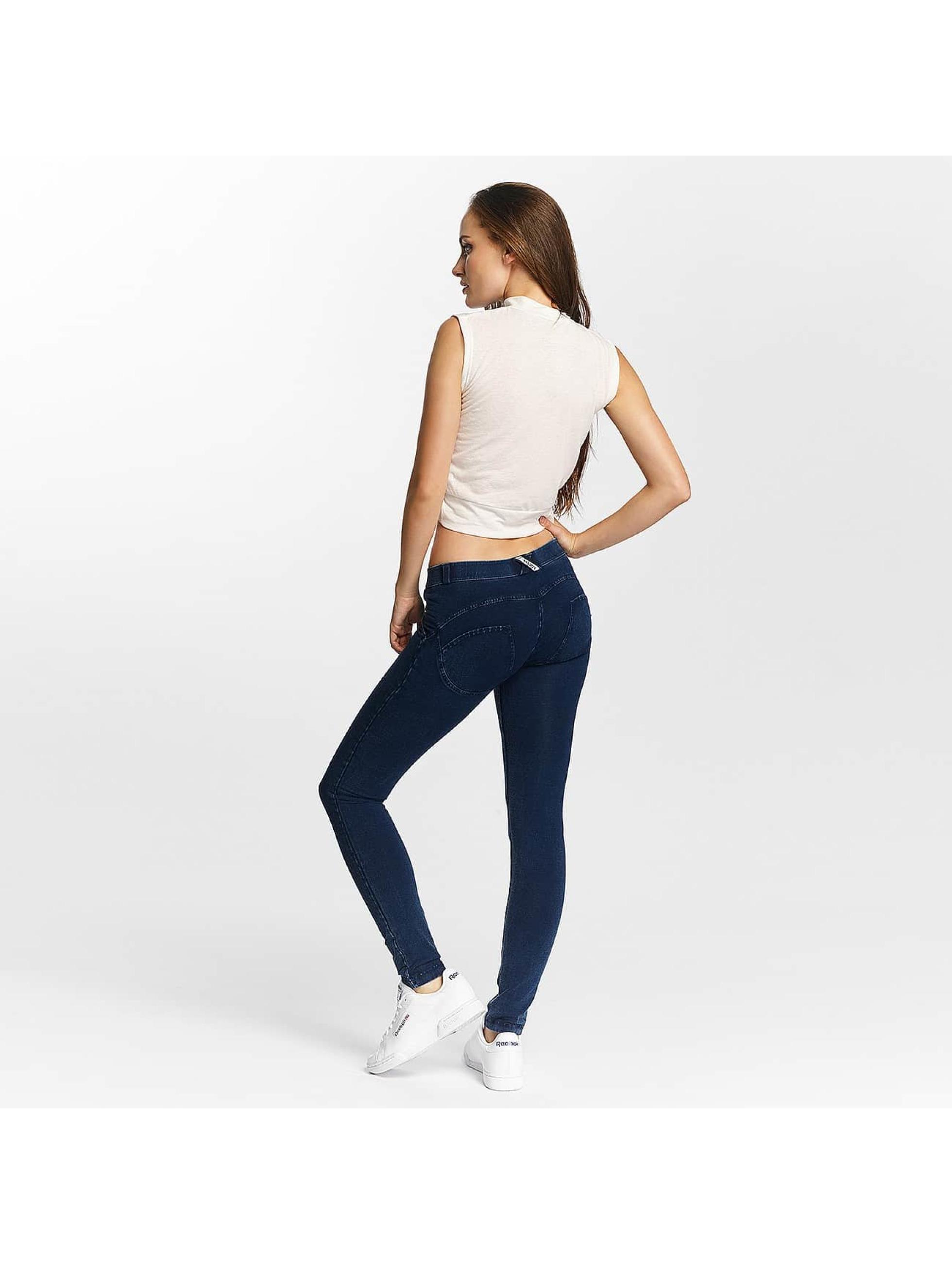 Freddy Skinny Jeans Regular Waist blå