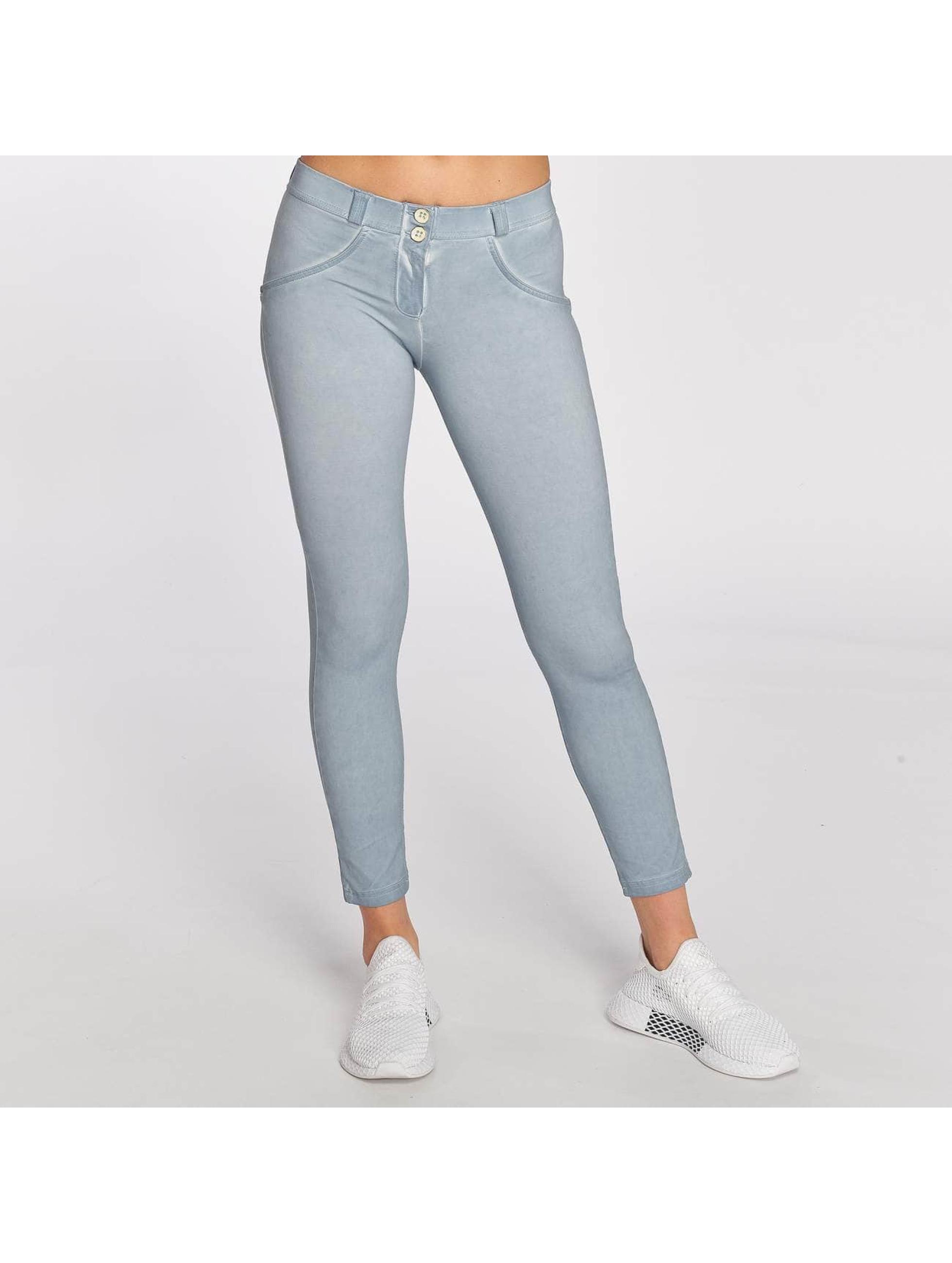 Freddy Skinny Jeans Pantalone 7/8 niebieski