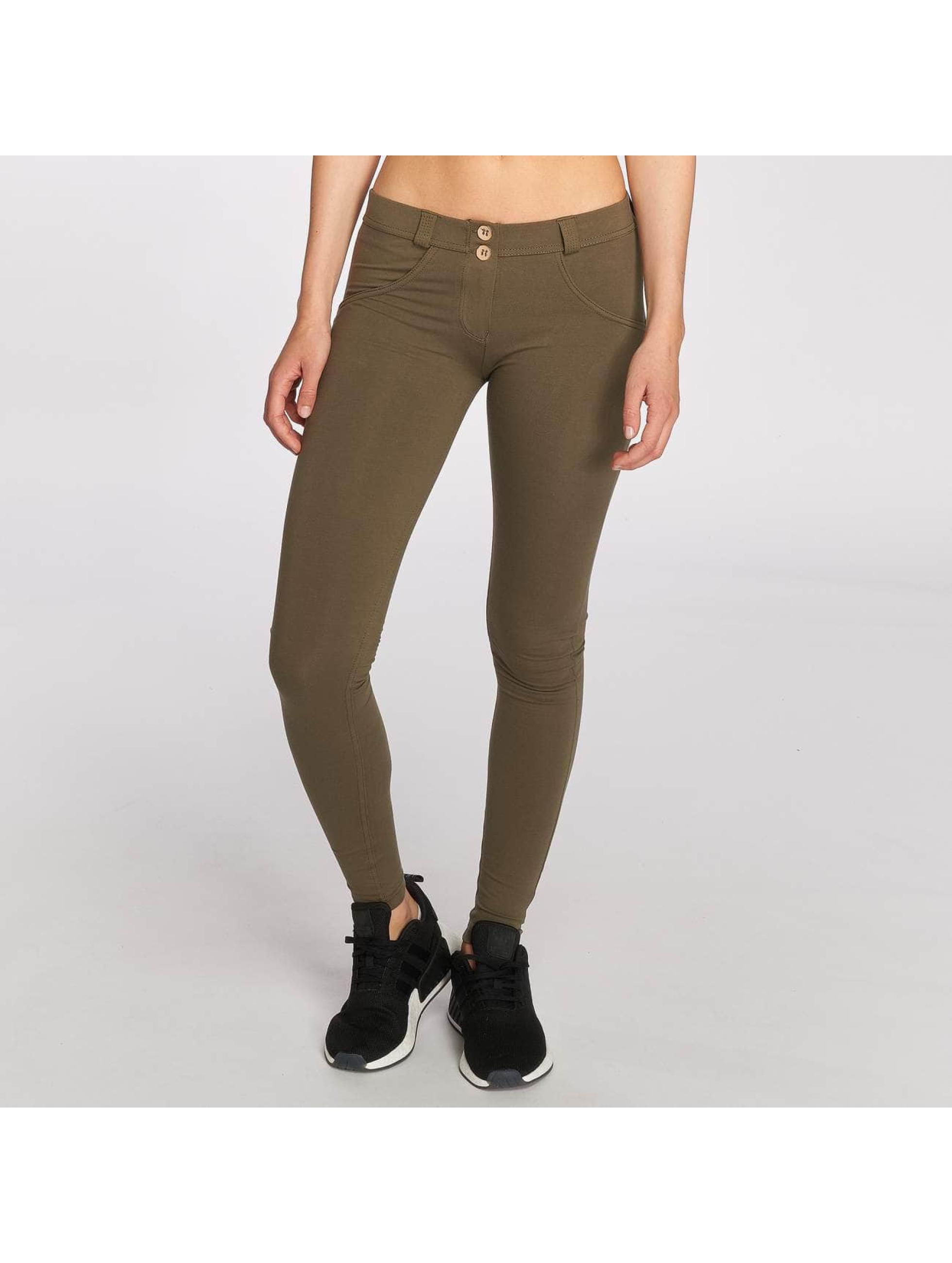 Freddy Skinny jeans Pantalone Lunga olijfgroen