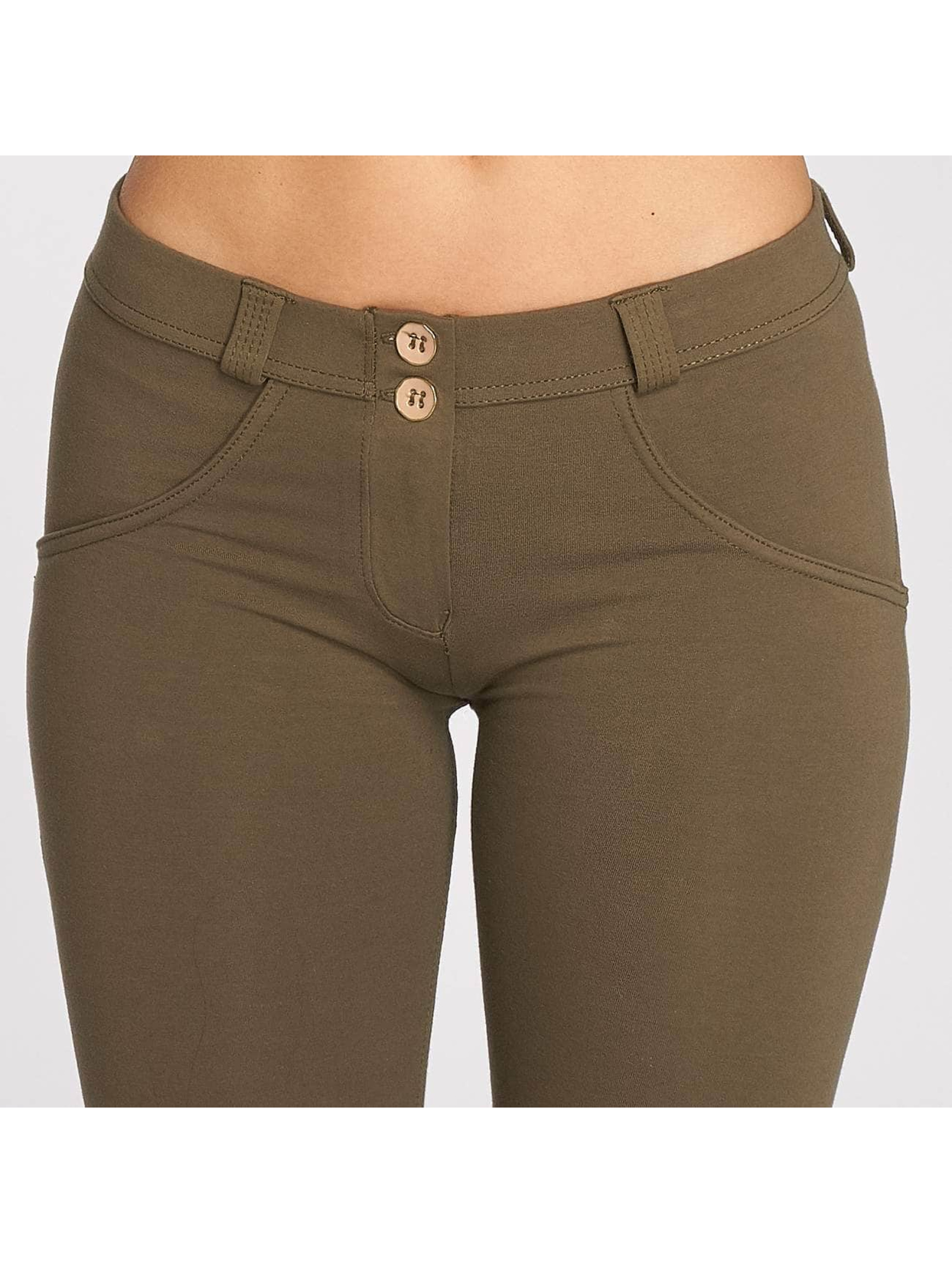 Freddy Skinny Jeans Pantalone Lunga oliwkowy