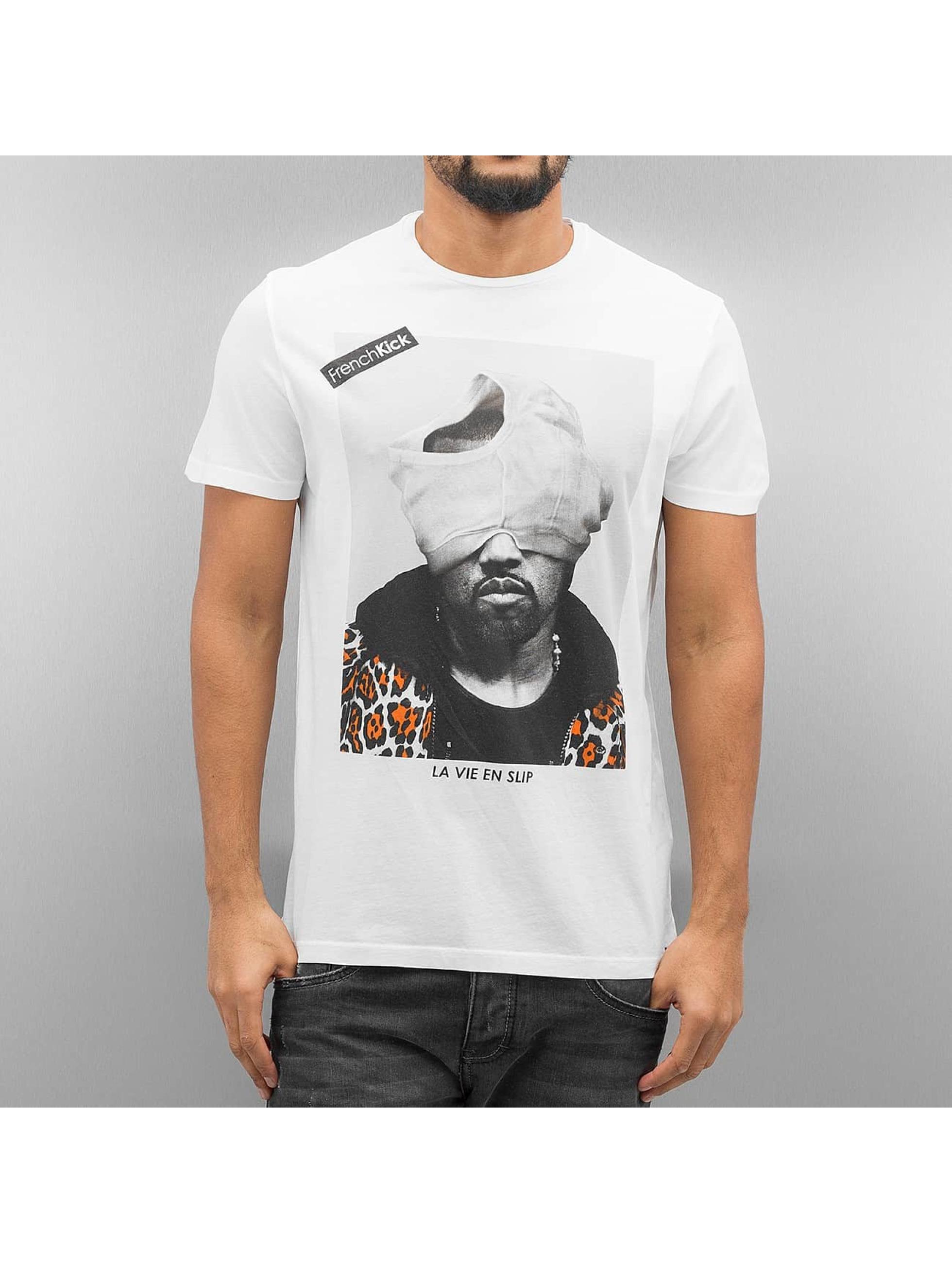 French Kick T-Shirt Kaka white