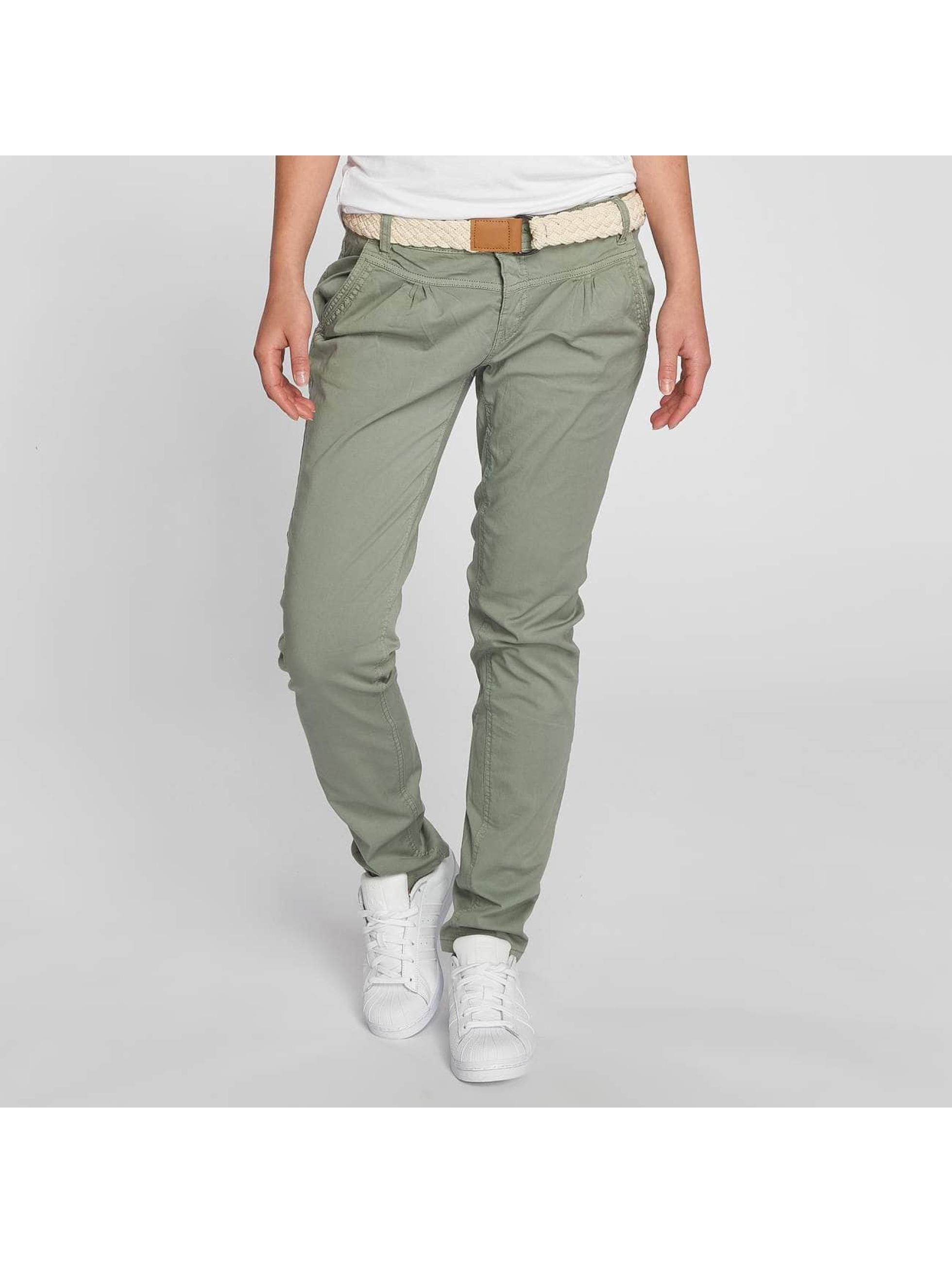 Fresh Made Pantalon chino Felize vert