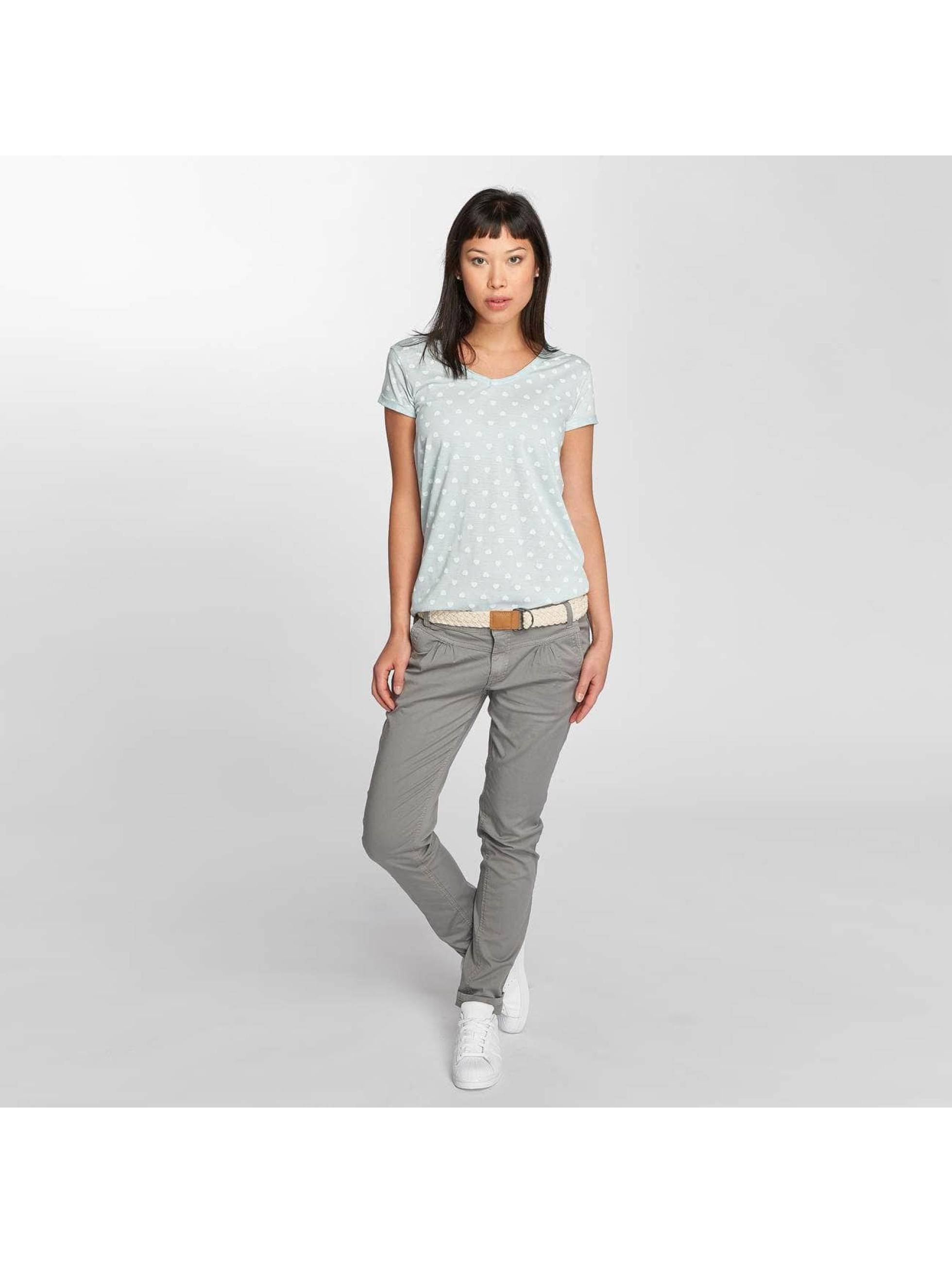Fresh Made T-Shirt Hearts blau