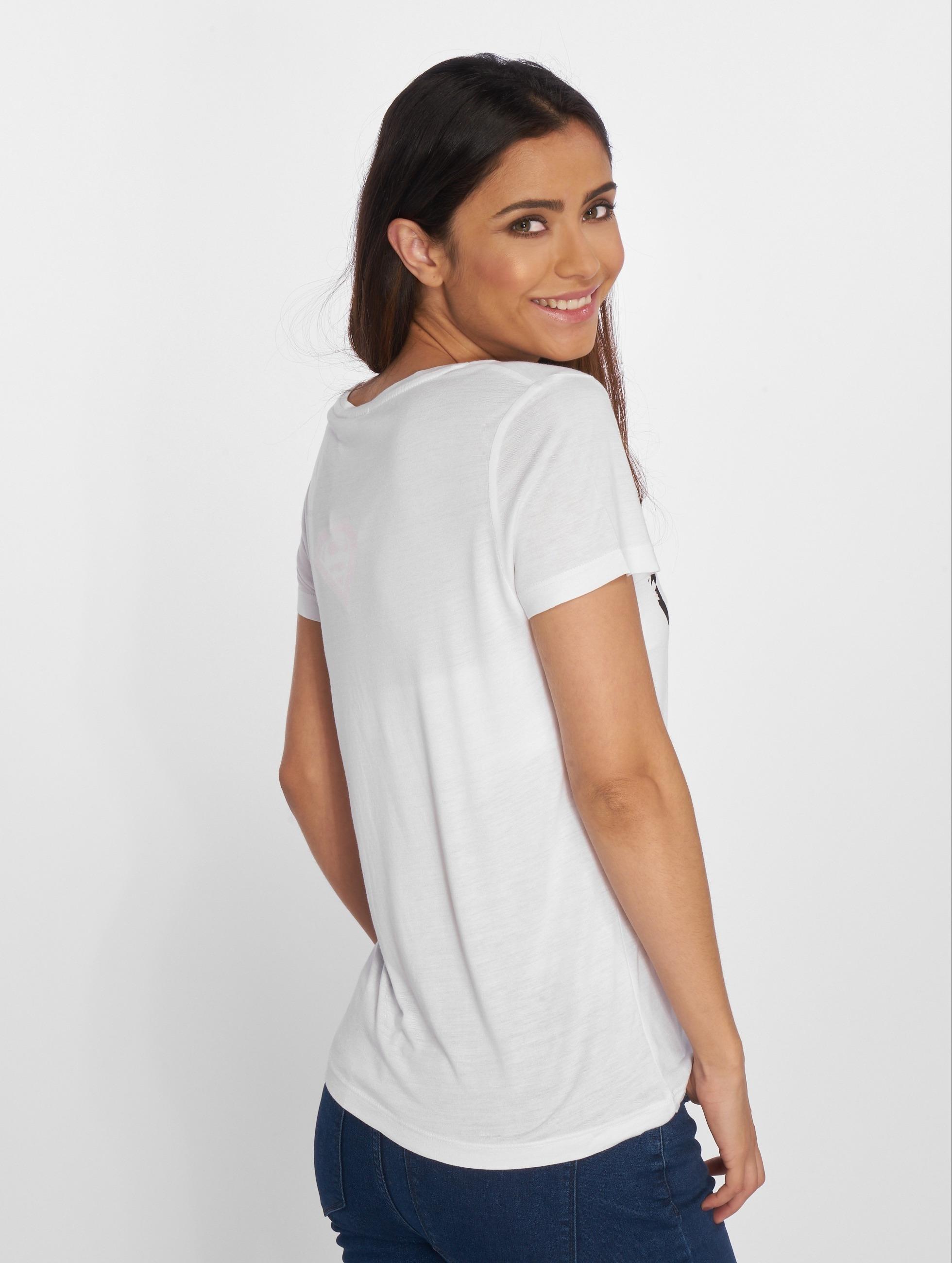 Fresh Made T-shirts Supergirl hvid