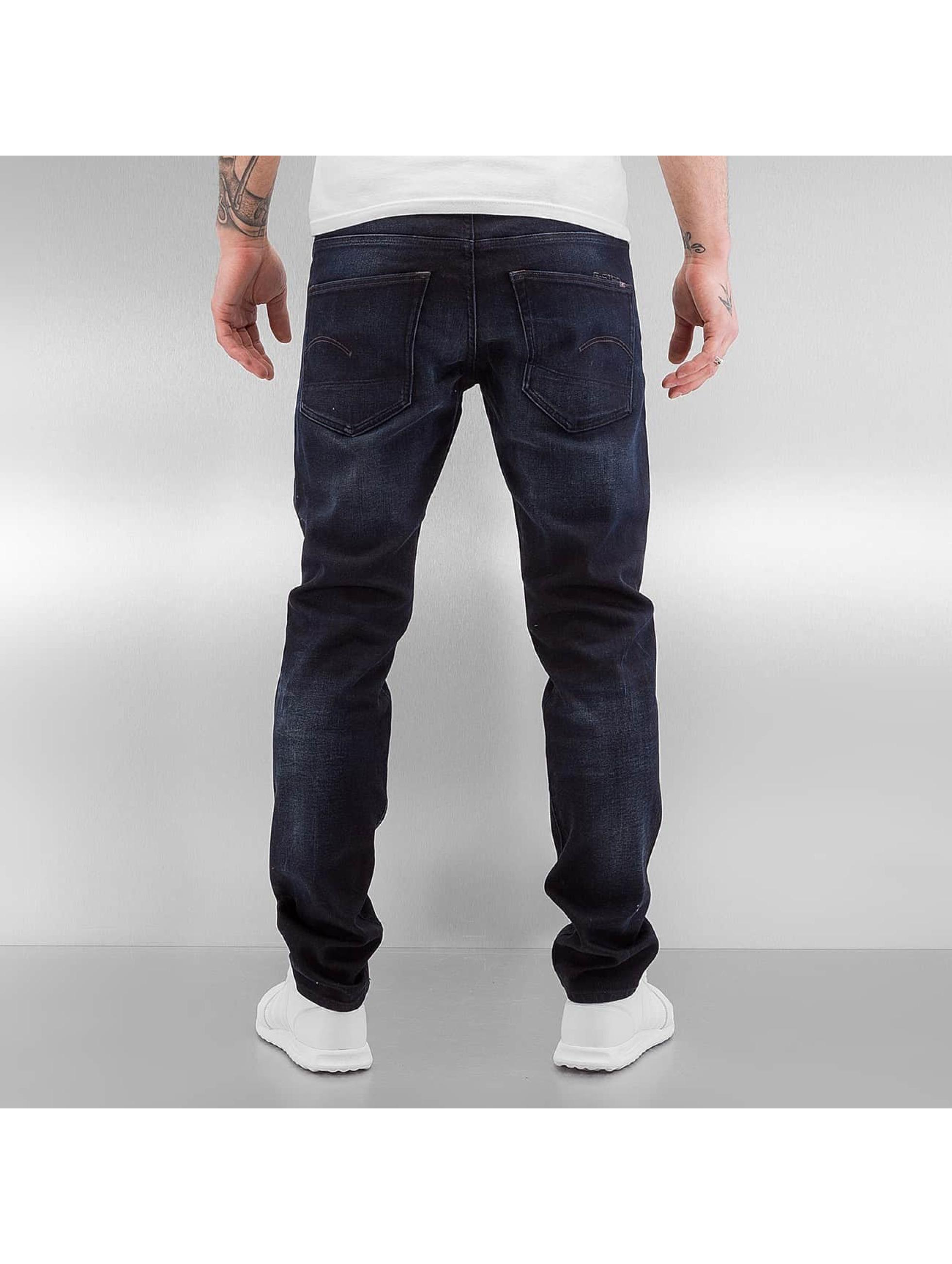 G-Star Úzke/Streč 3301 Slim Siro modrá