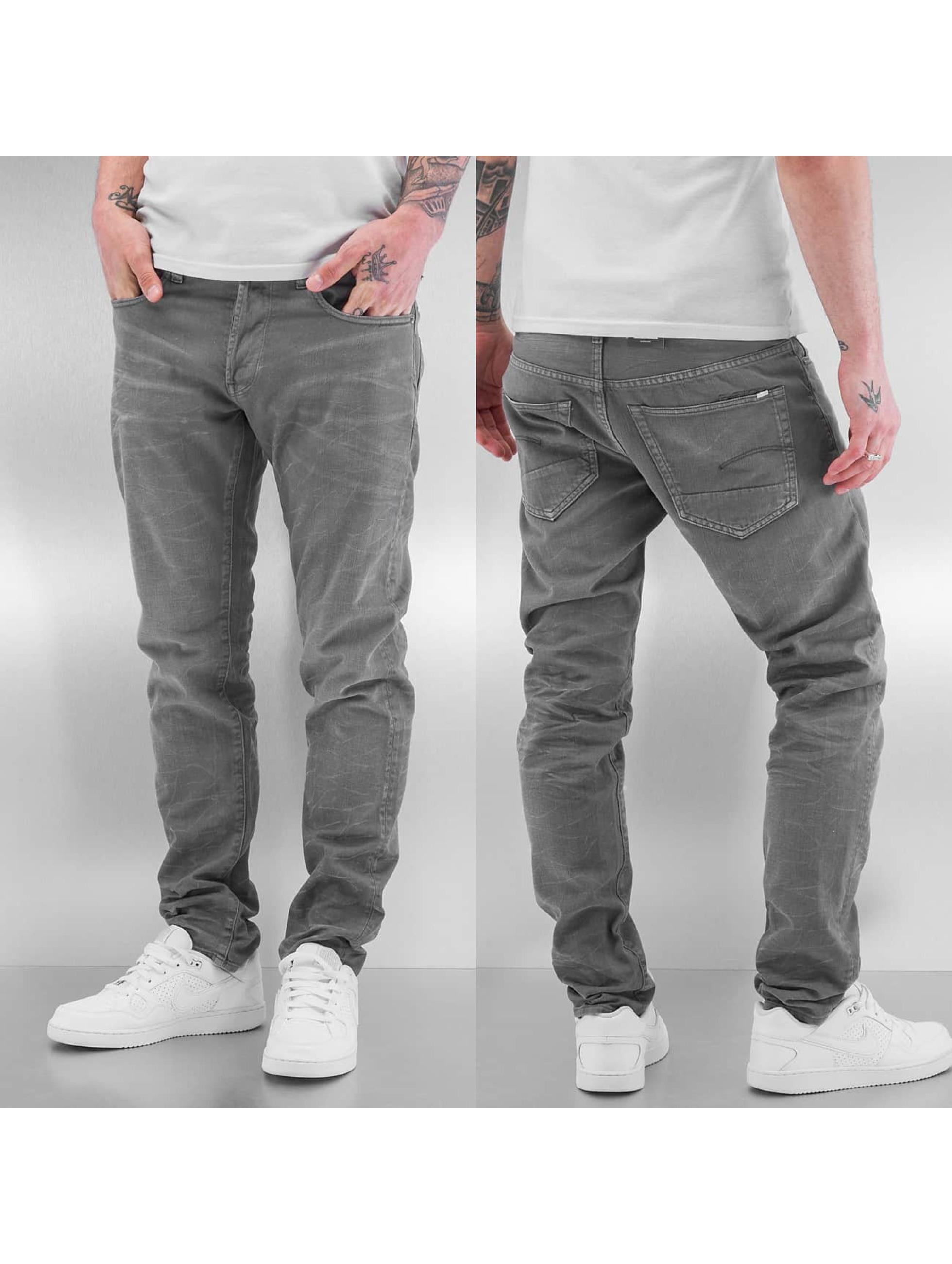 G-Star Облегающие джинсы Slim Color серый