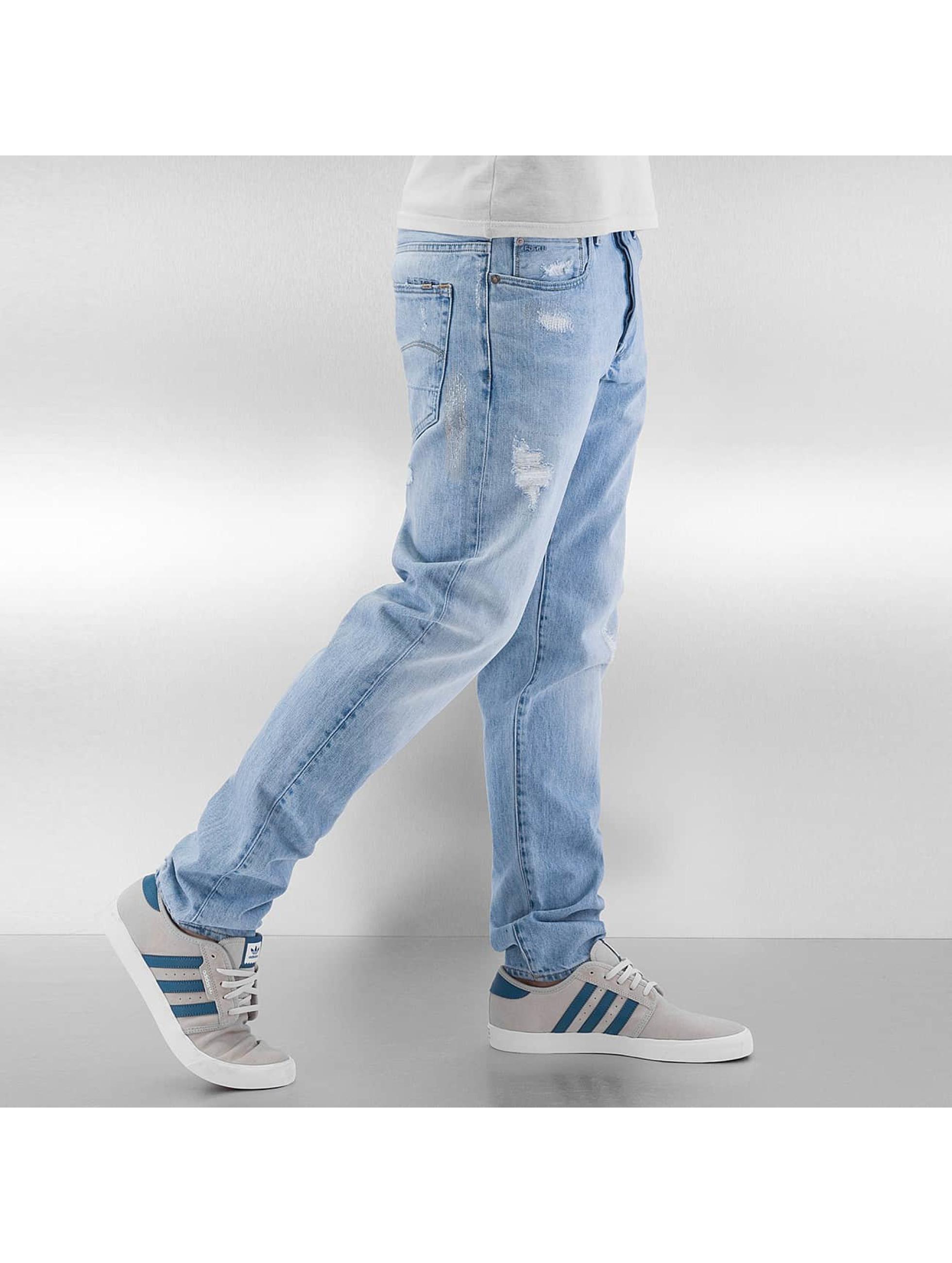 G-Star Облегающие джинсы 3301 SLim синий
