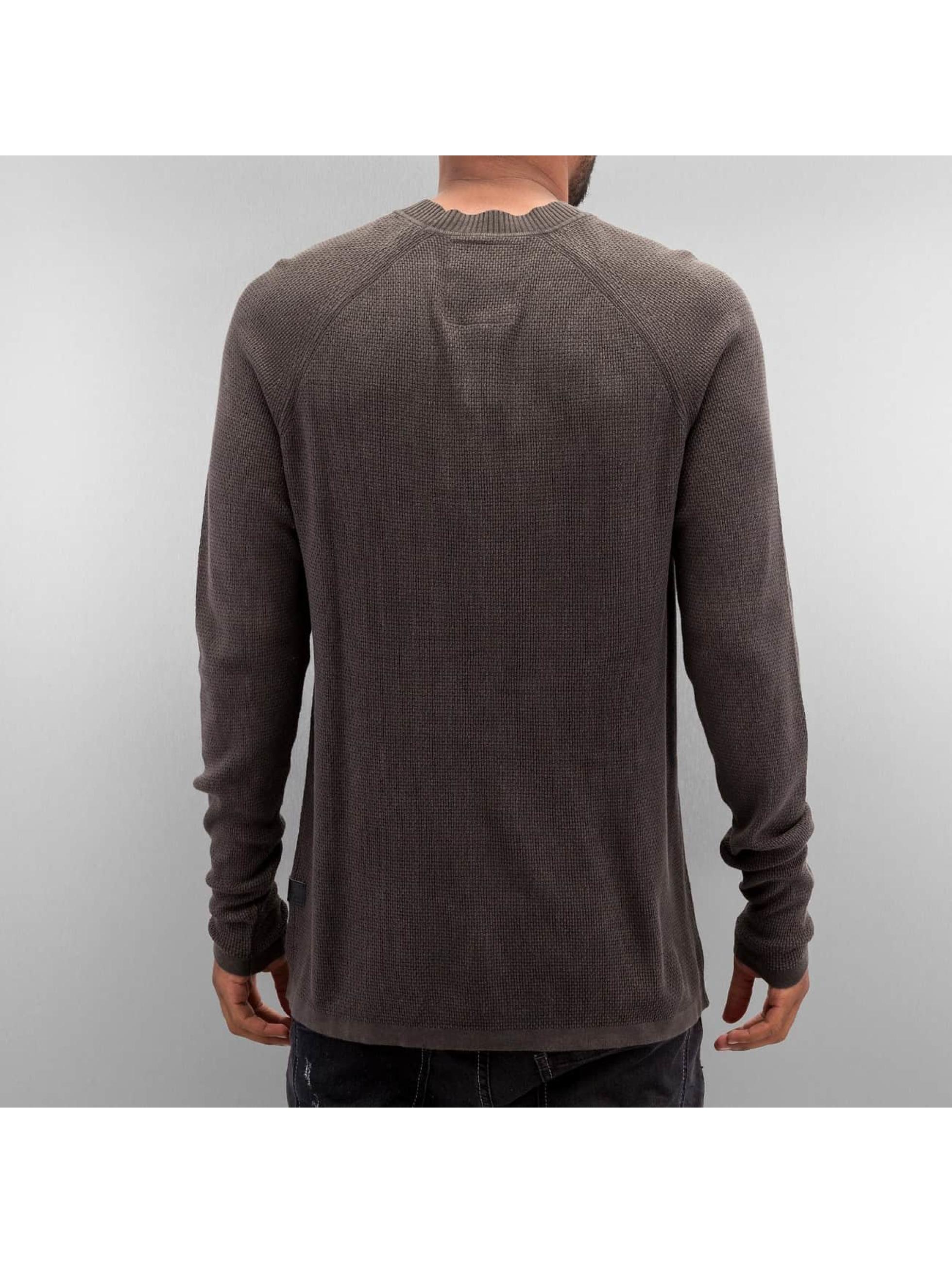 G-Star Пуловер Core Straight Knit коричневый