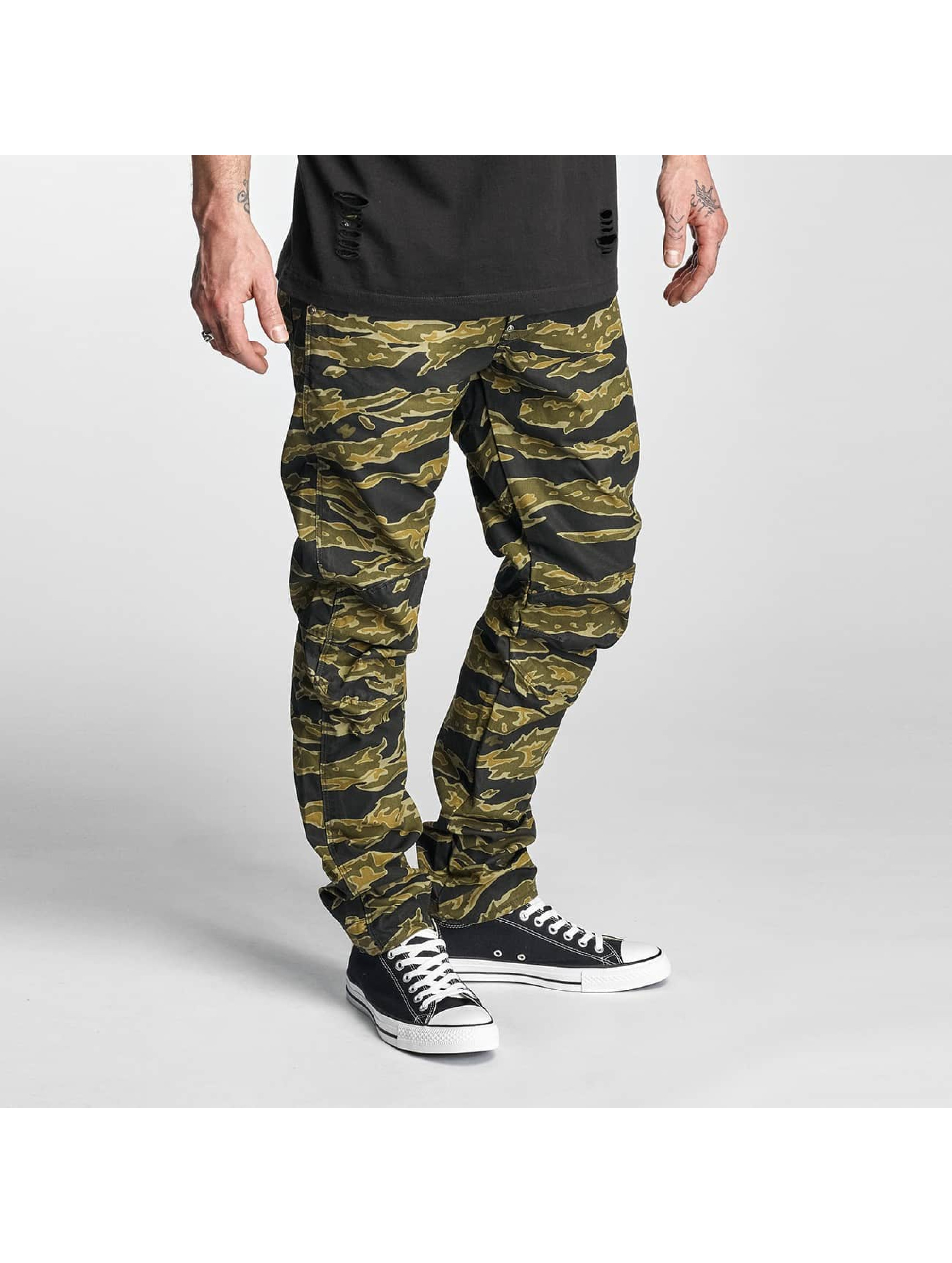 g star jeans antifit 5622 3d tapered lucas canvas woodland camo in camouflage 310072. Black Bedroom Furniture Sets. Home Design Ideas