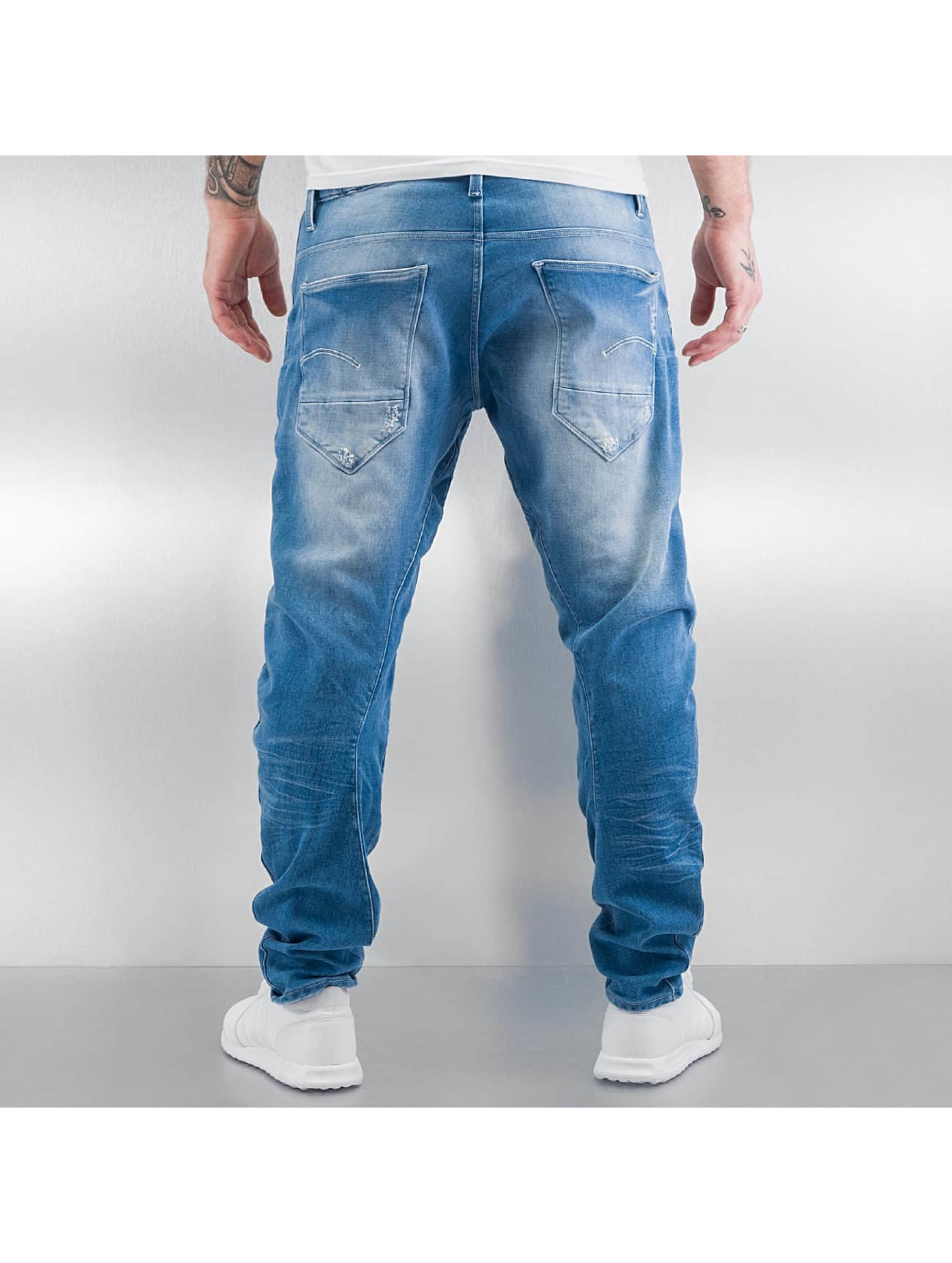 G-Star Antifit Arc 3D Sport Tapered Indigo Rinn Trainer modrá