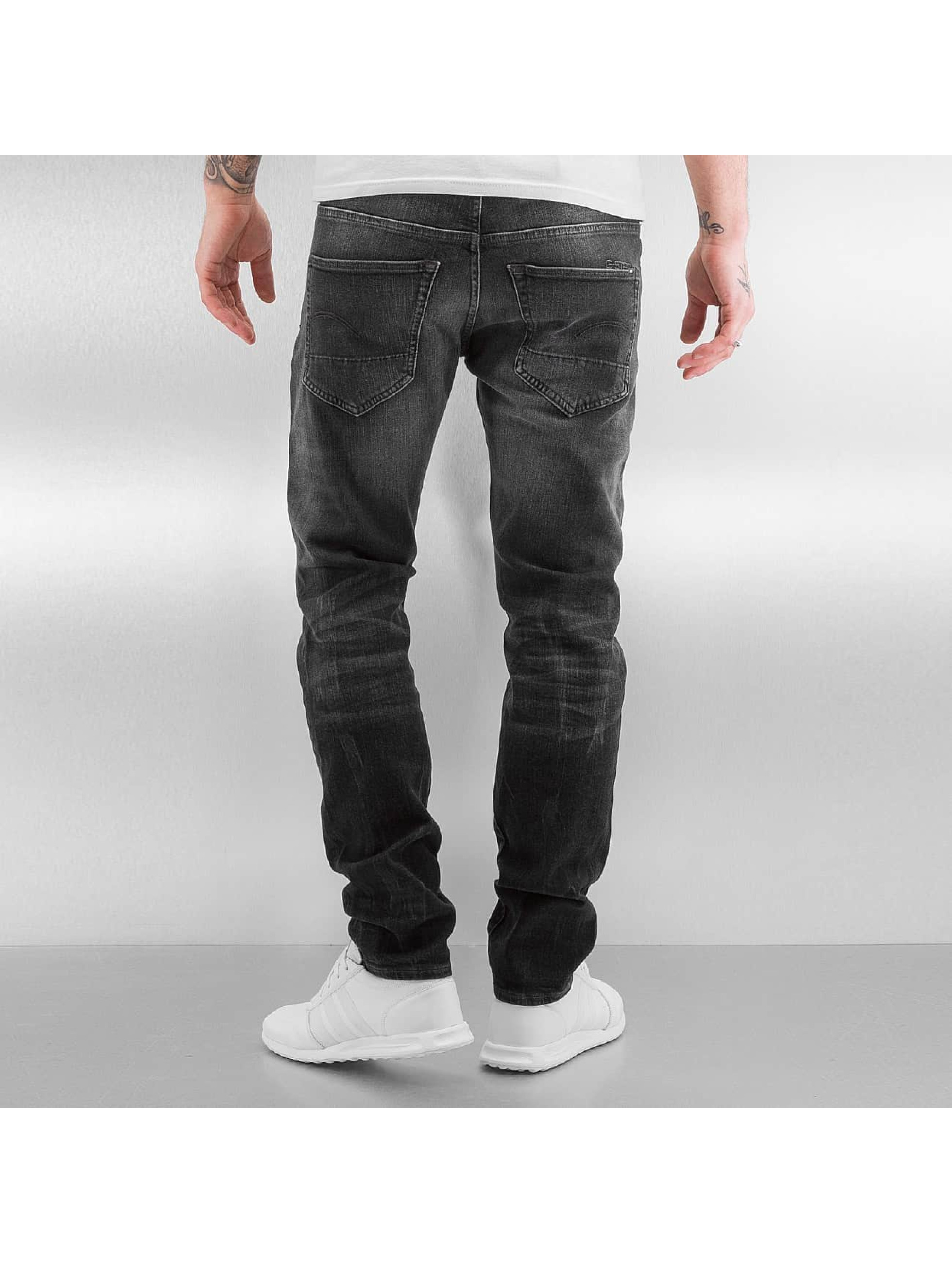 G-Star Antifit 3301 Tapered Slader Bionic Black zwart