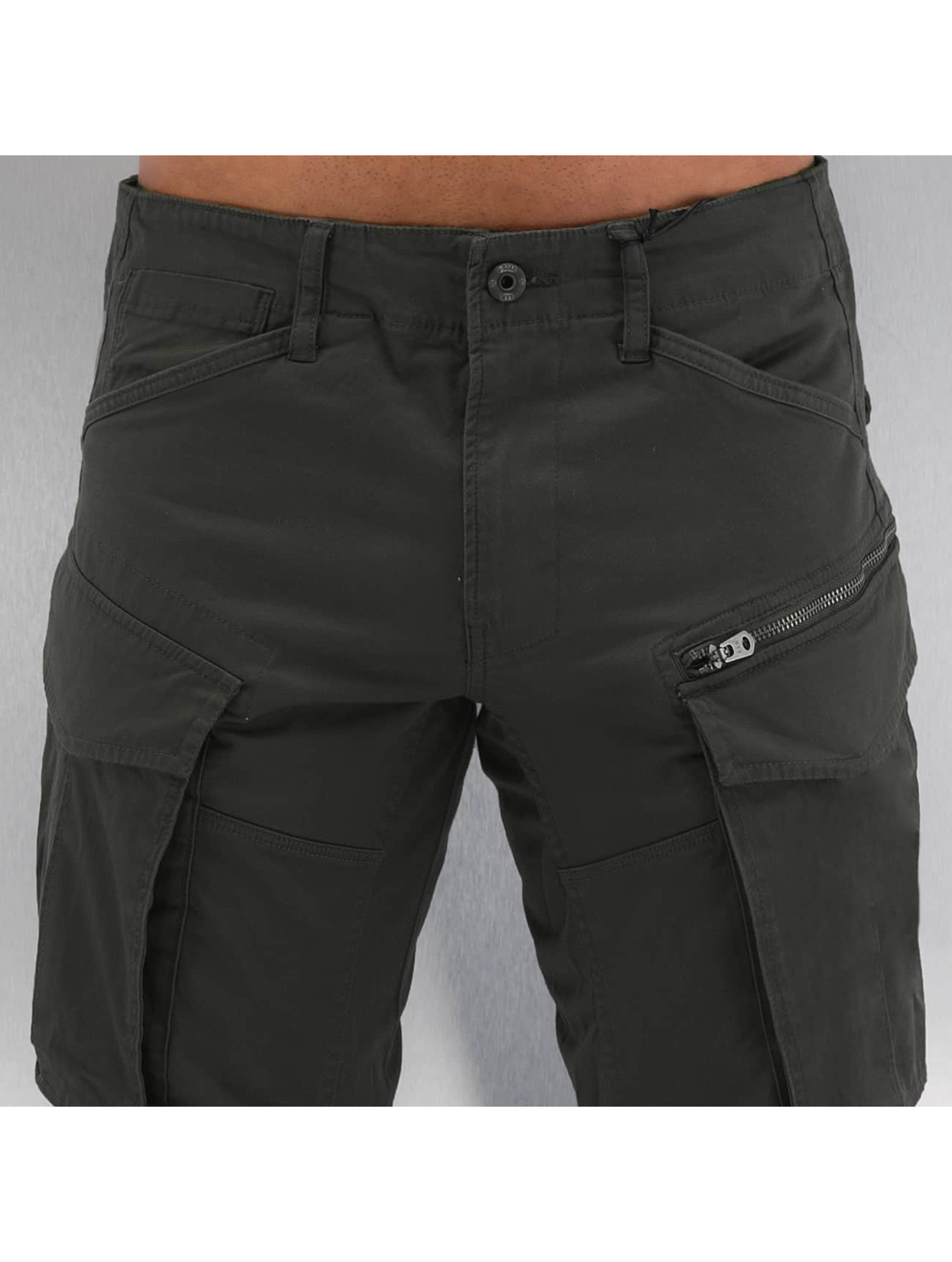 G-Star Cargobroek Rovic Zip 3D Tapered grijs