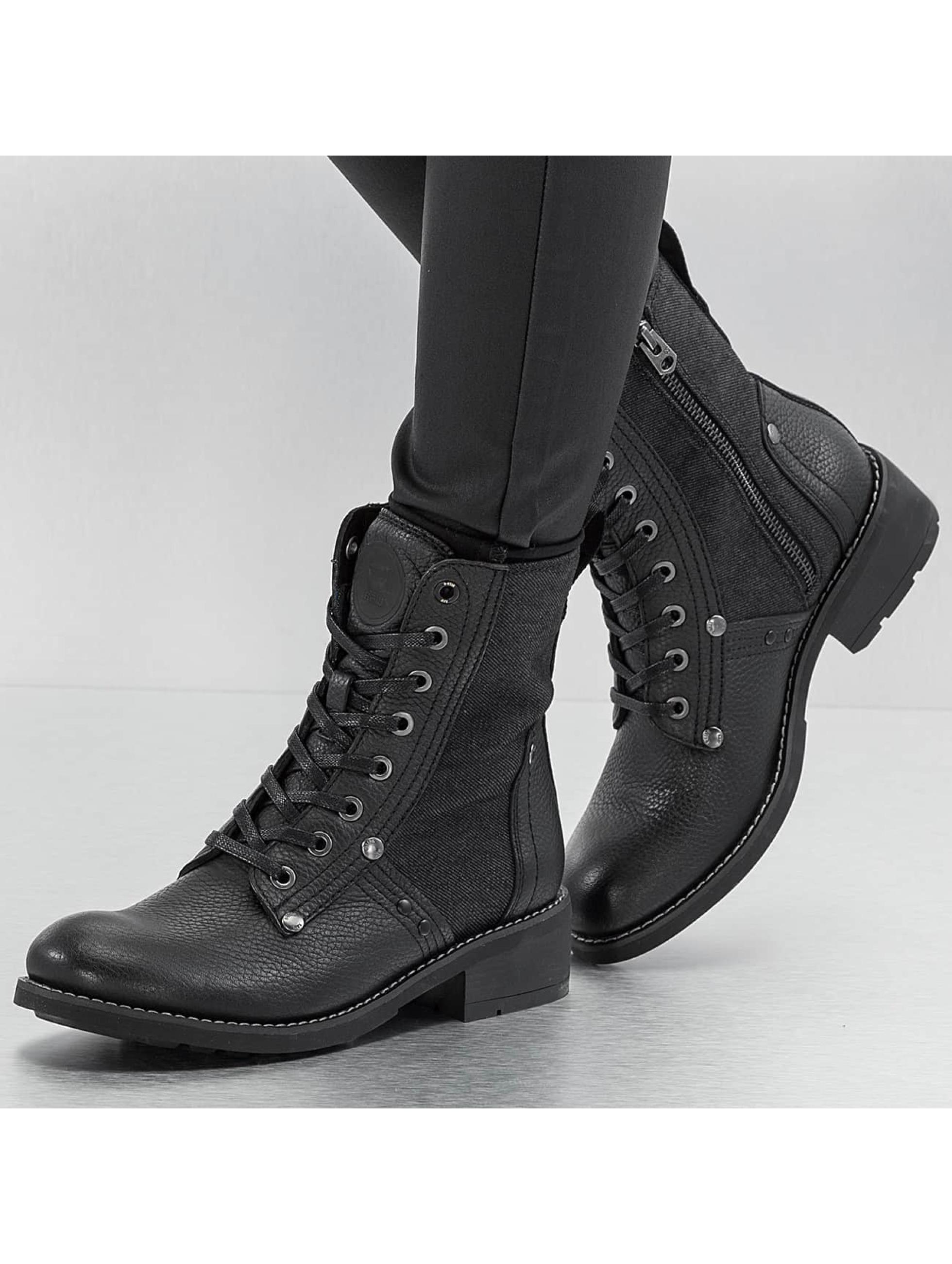 G-Star Chaussures / Chaussures montantes Labour en noir