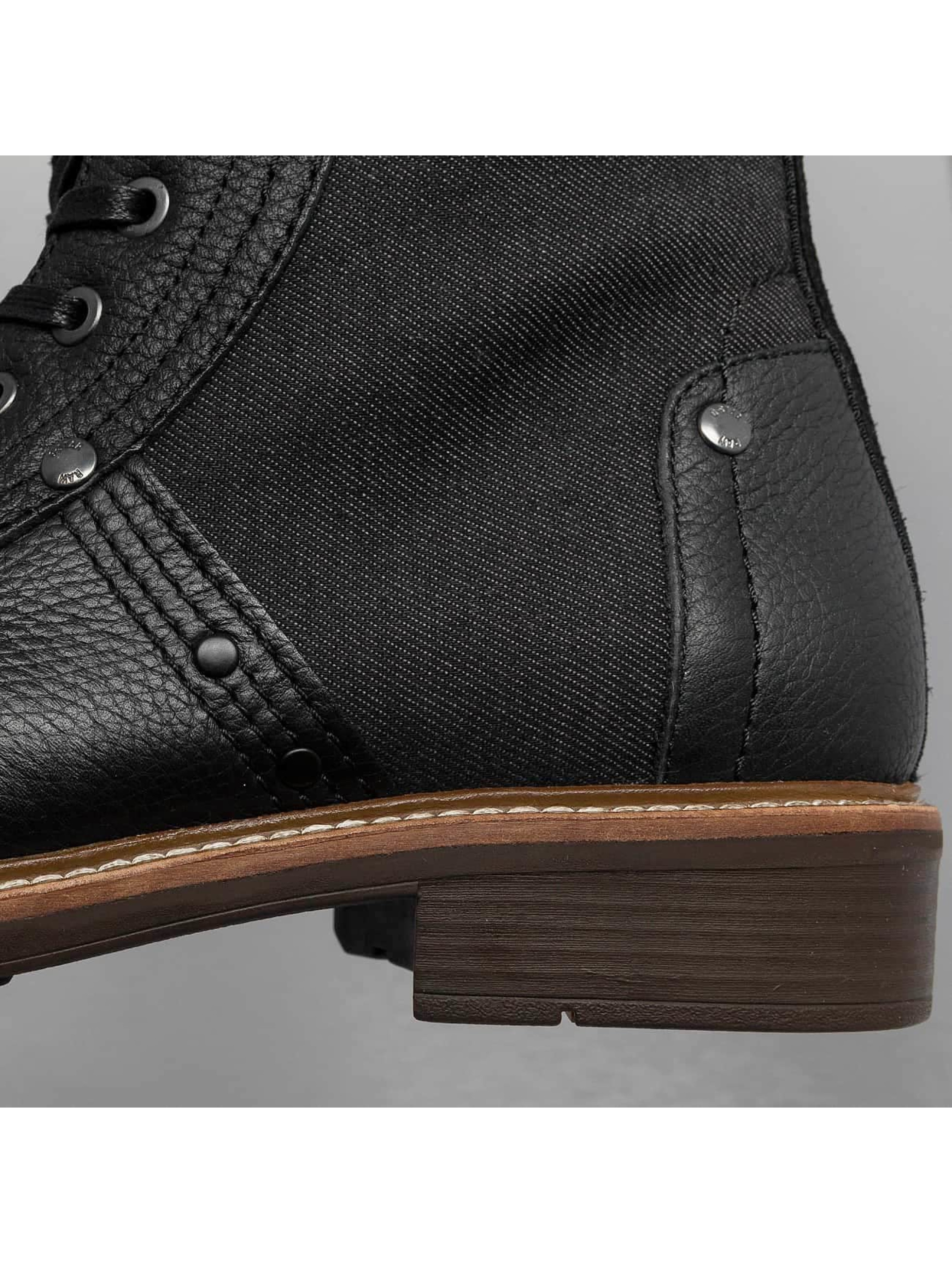 G-Star Footwear Boots Labour Leather negro
