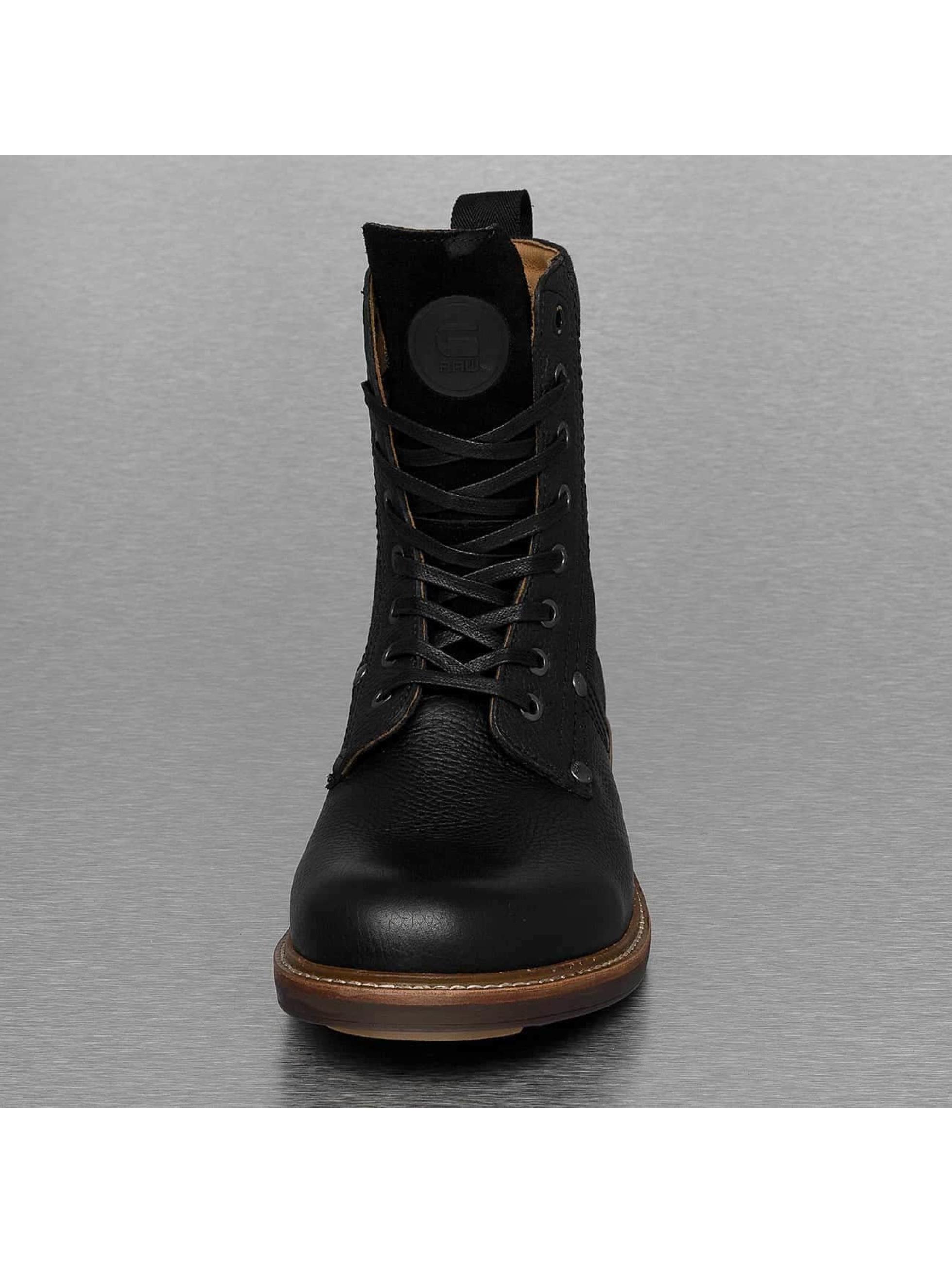 G-Star Footwear Boots Labour Leather zwart