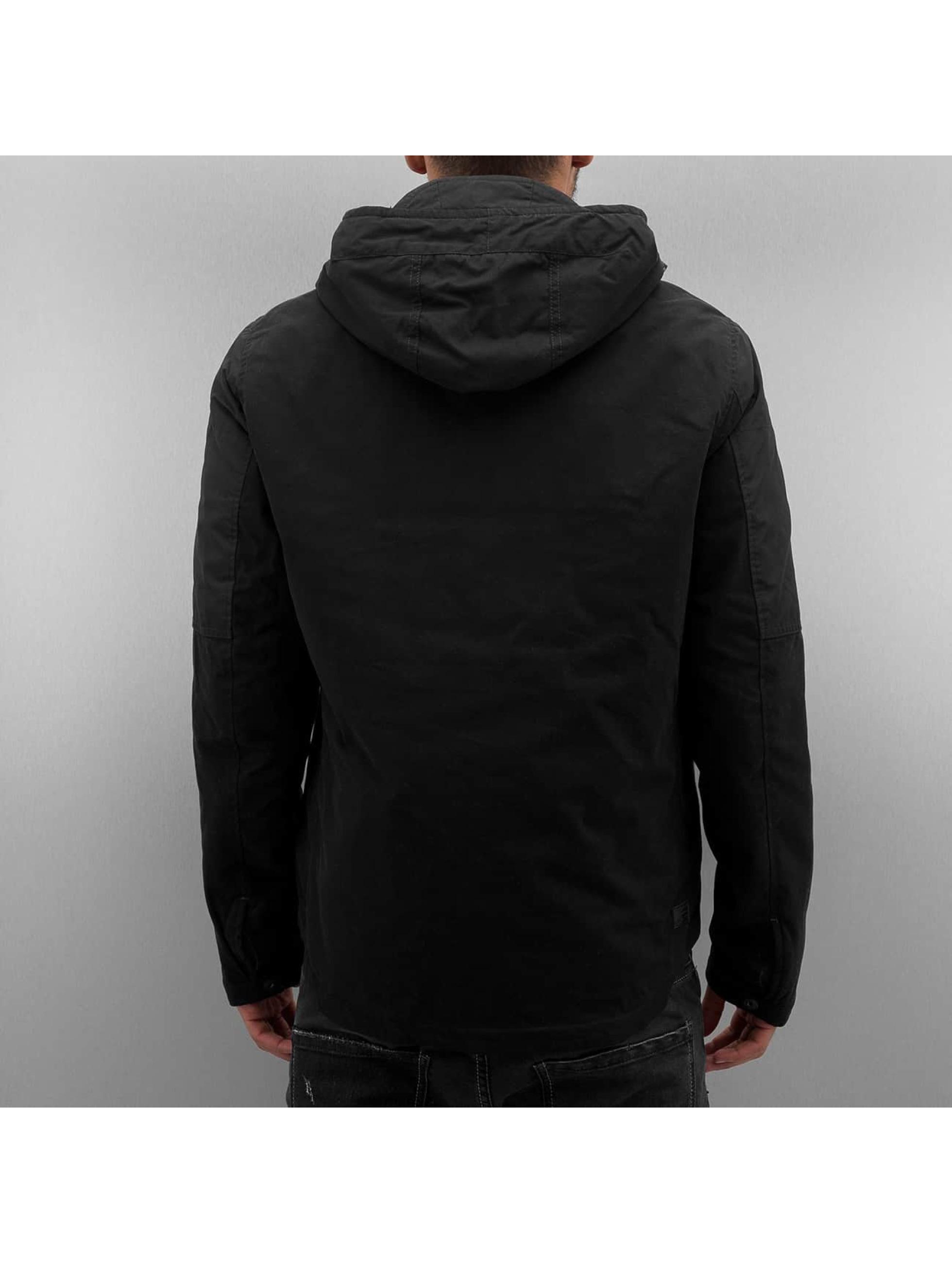 G-Star Kurtki przejściowe Batt Hooded Overshirt czarny