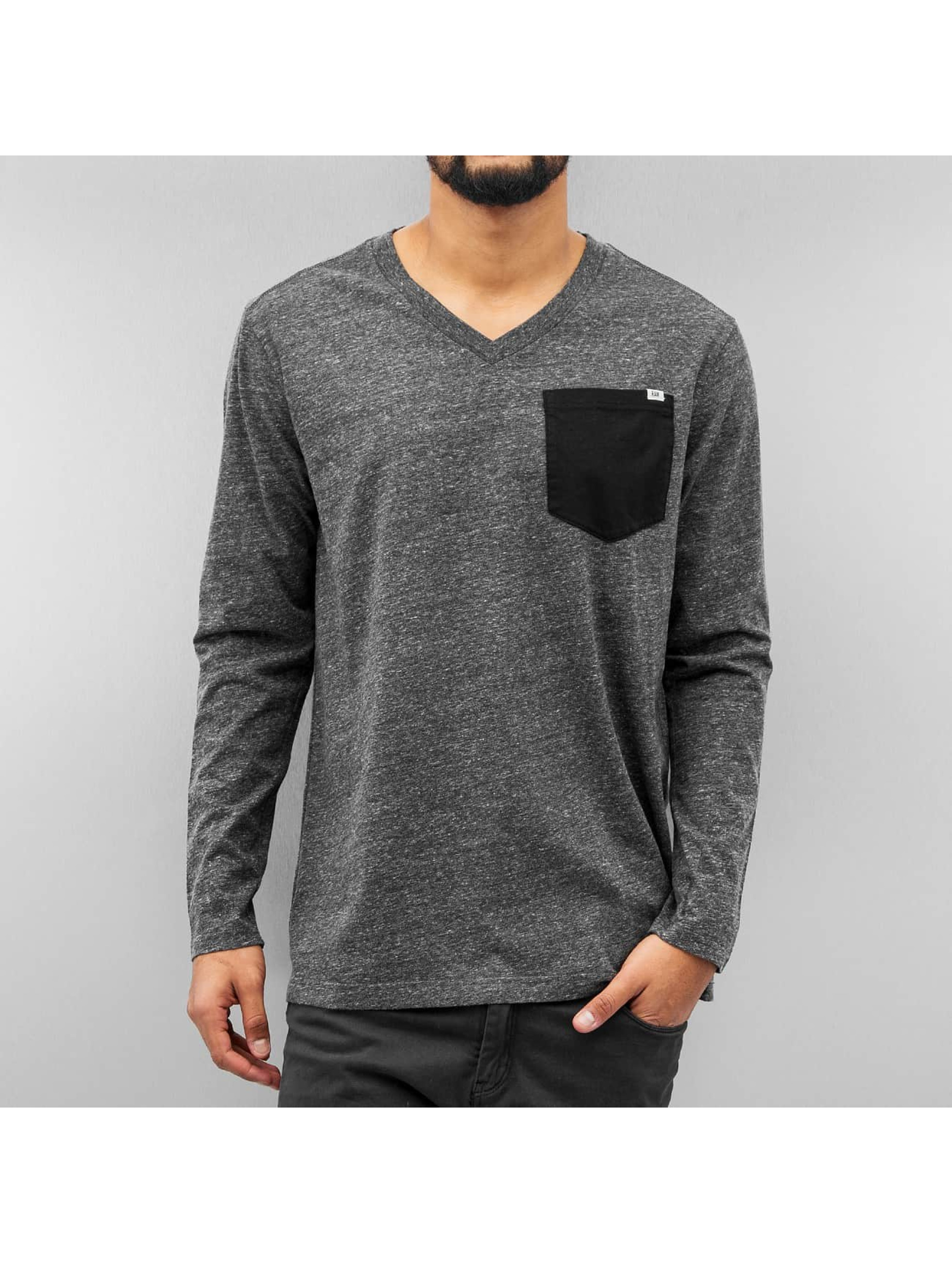 G-Star Longsleeve Riban Pocket Premium Compact Jersey grau