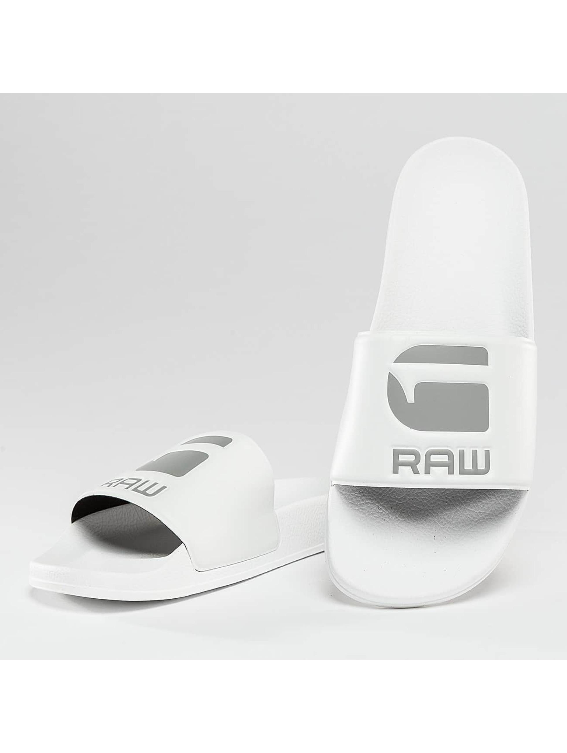 G-Star Chaussures / Sandales Cart Slide en blanc