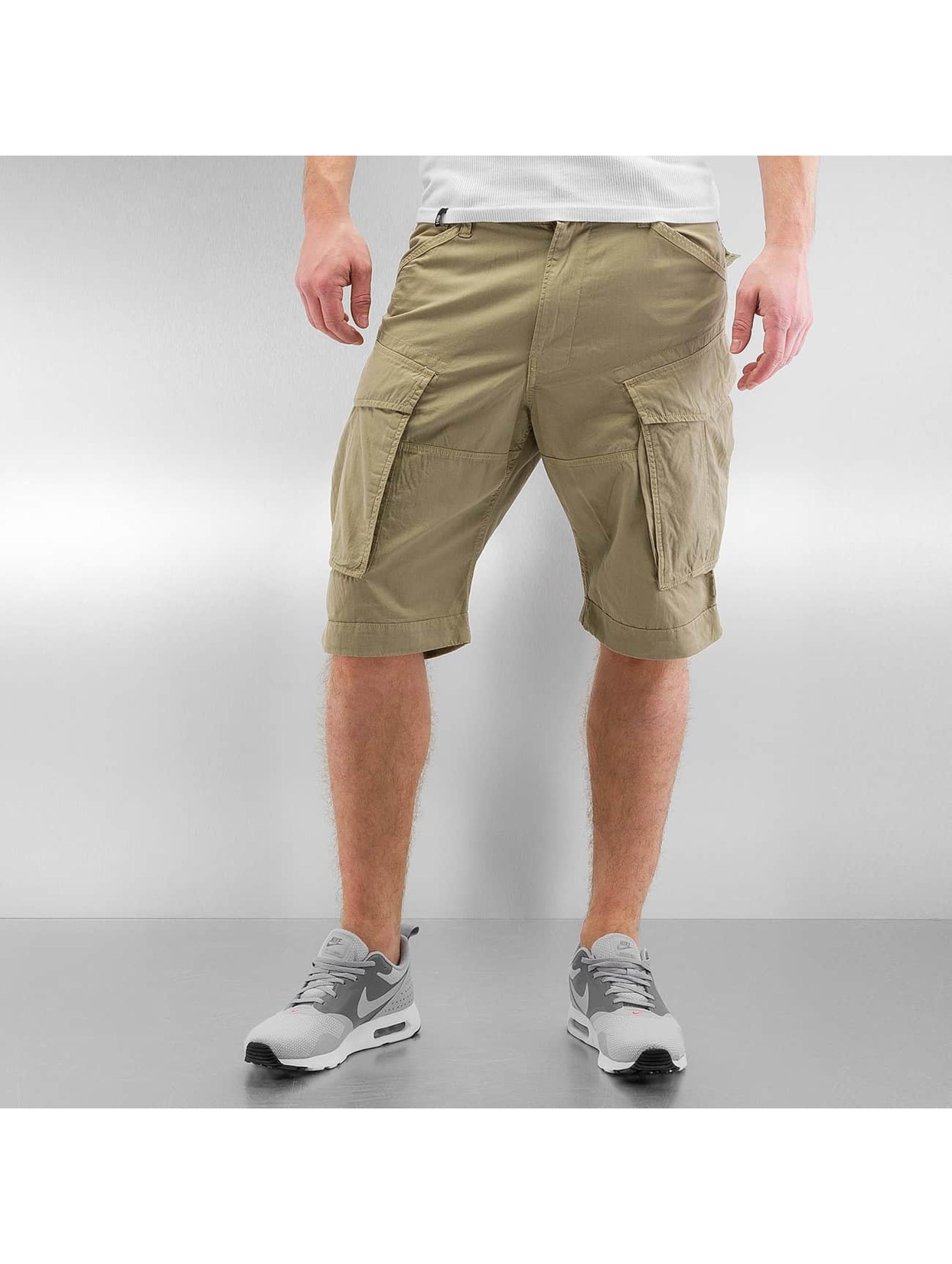 g star herren shorts rovic loose in beige 310814. Black Bedroom Furniture Sets. Home Design Ideas