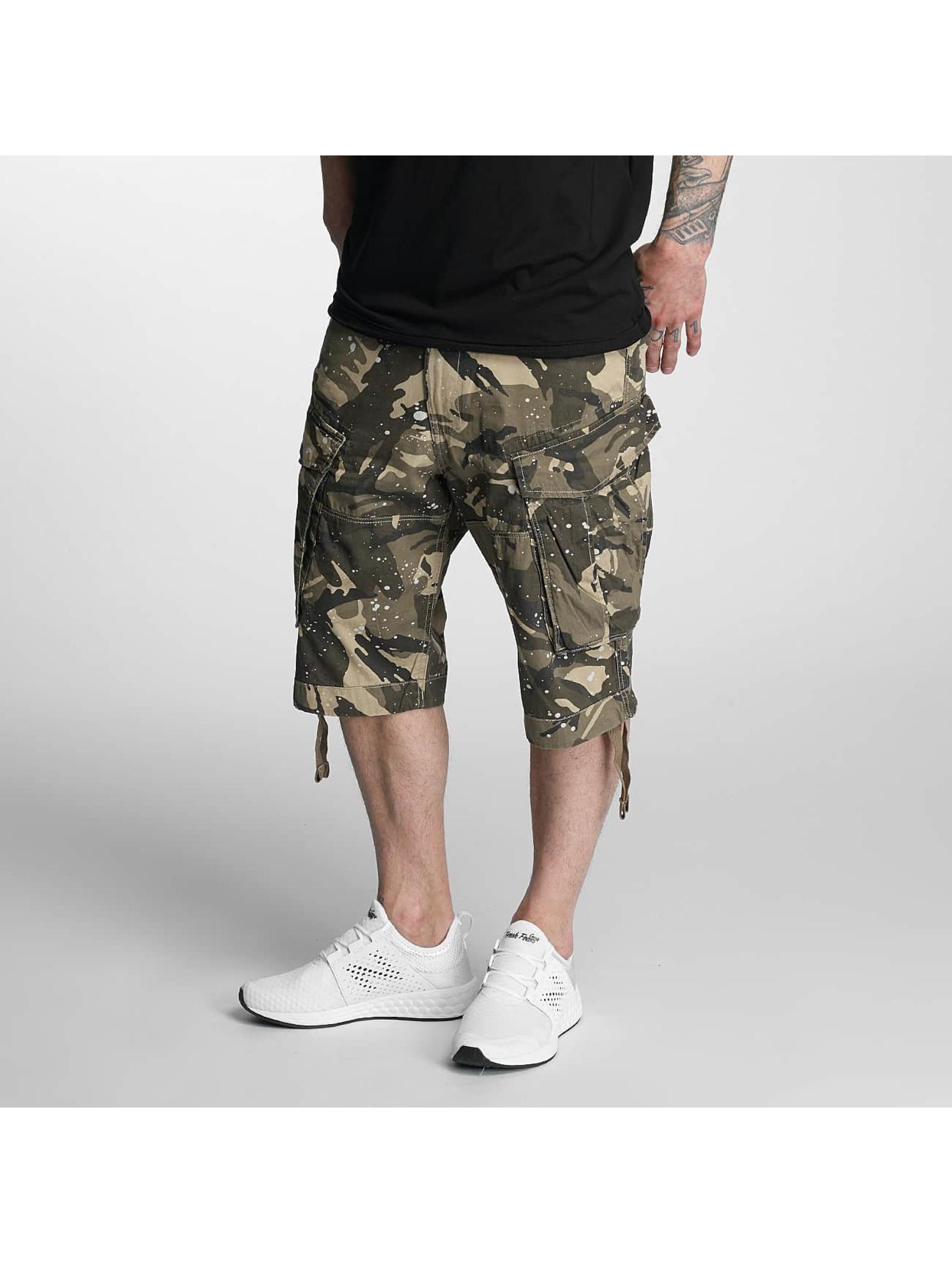 g star herren shorts rovic loose 1 2 in camouflage 310204. Black Bedroom Furniture Sets. Home Design Ideas