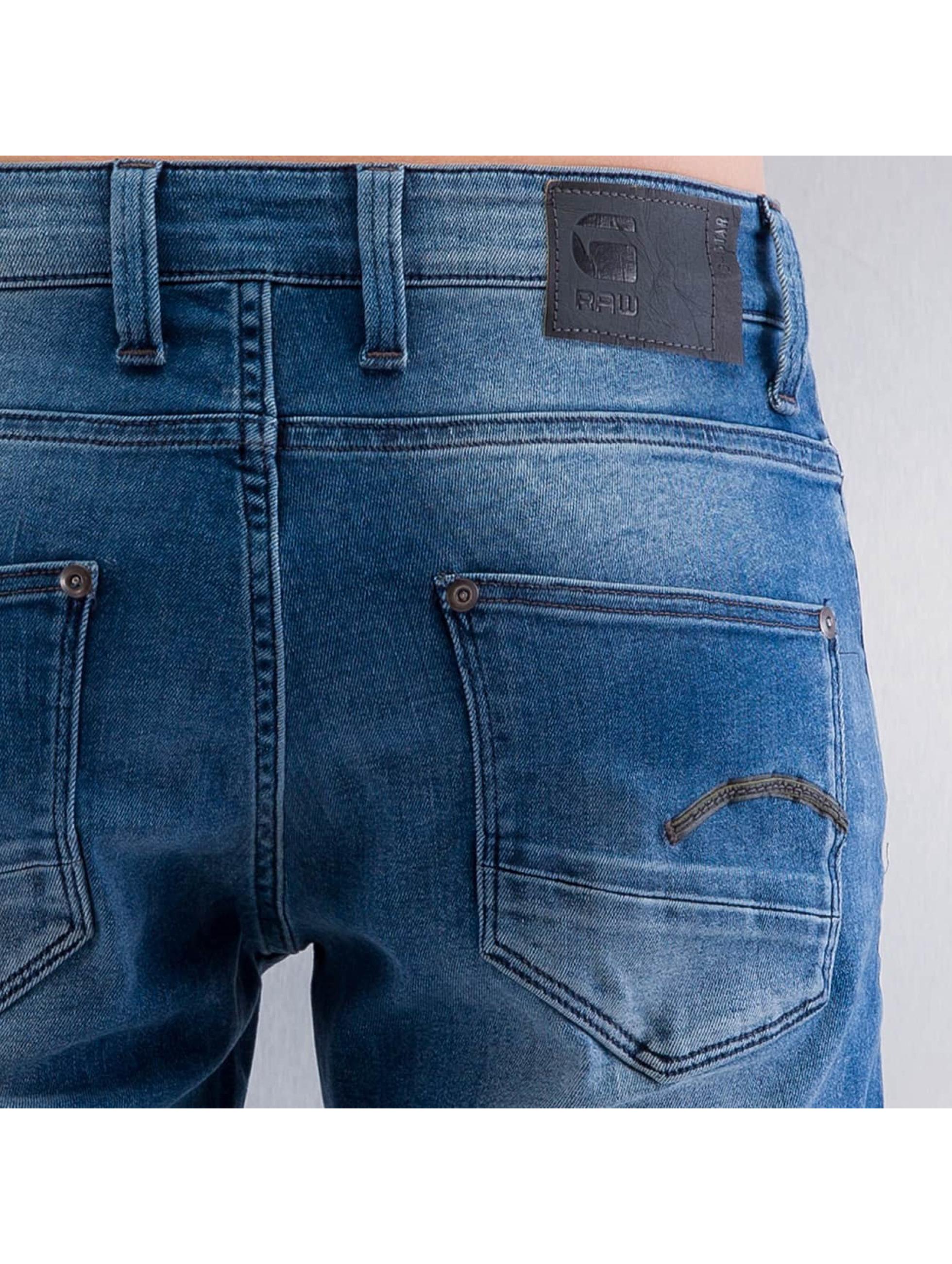 G-Star Skinny jeans Revend Super Slim Slander blå