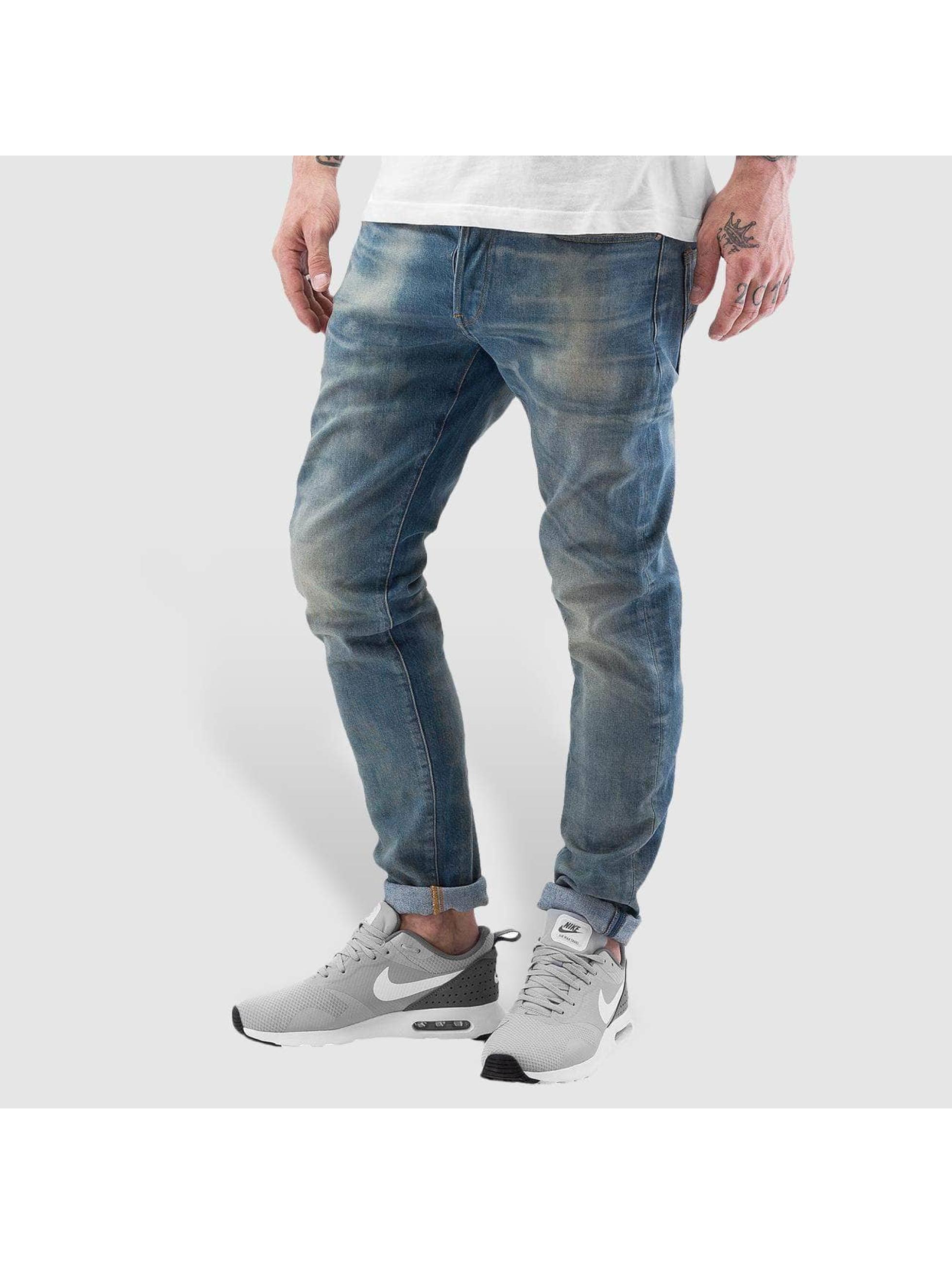 Skinny Jeans 3301 in blau