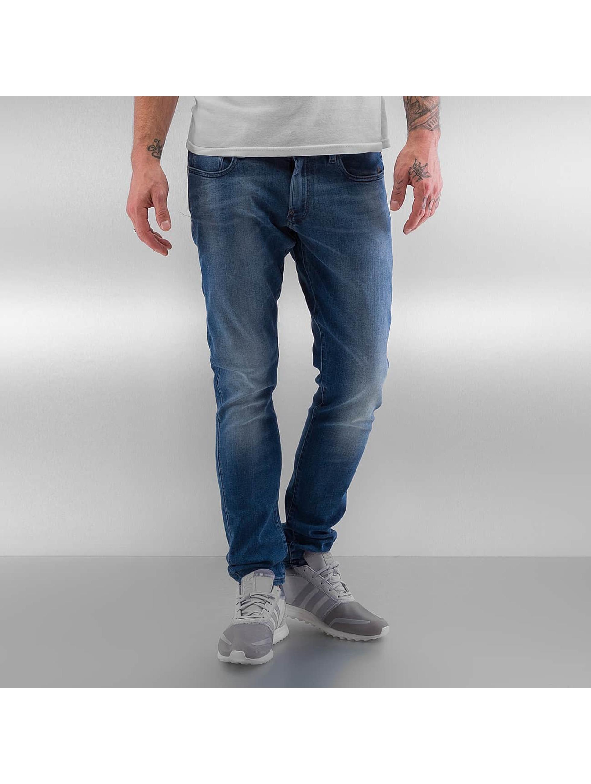 G-Star Skinny Jeans Revend Super Slim Slander blau
