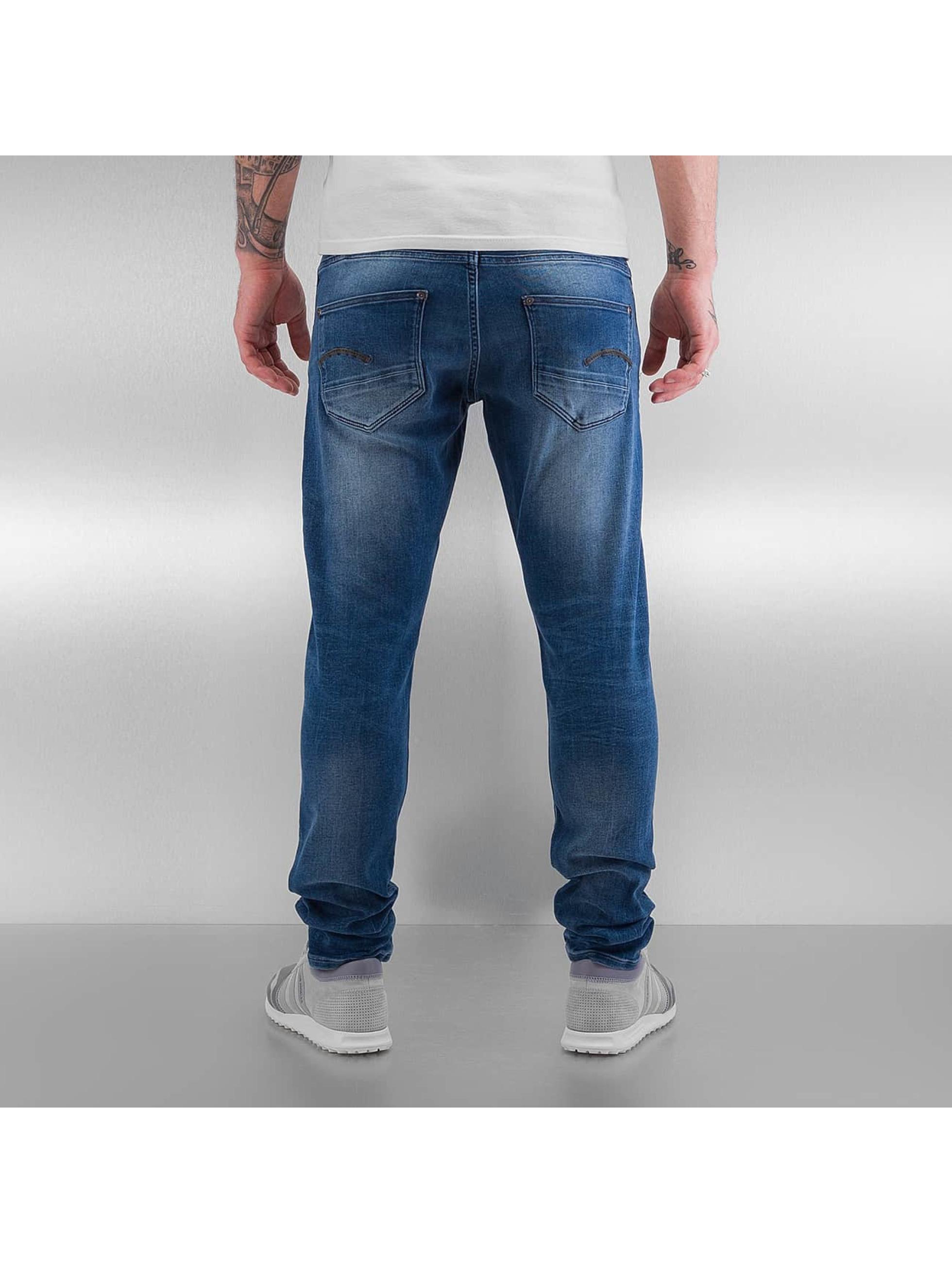 G-Star Skinny jeans Revend Super Slim Slander blauw