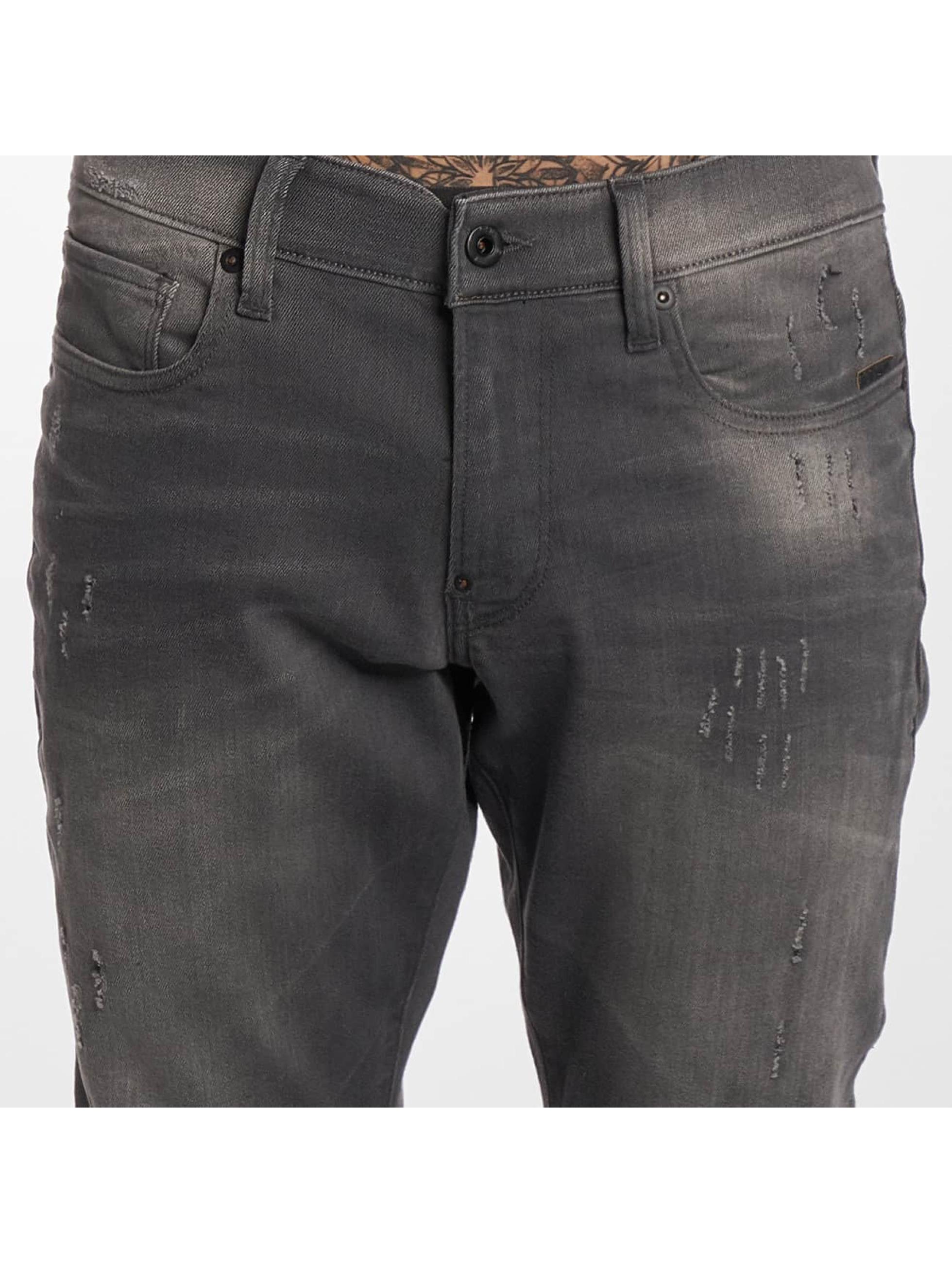 G-Star Slim Fit Jeans Revend Super серый