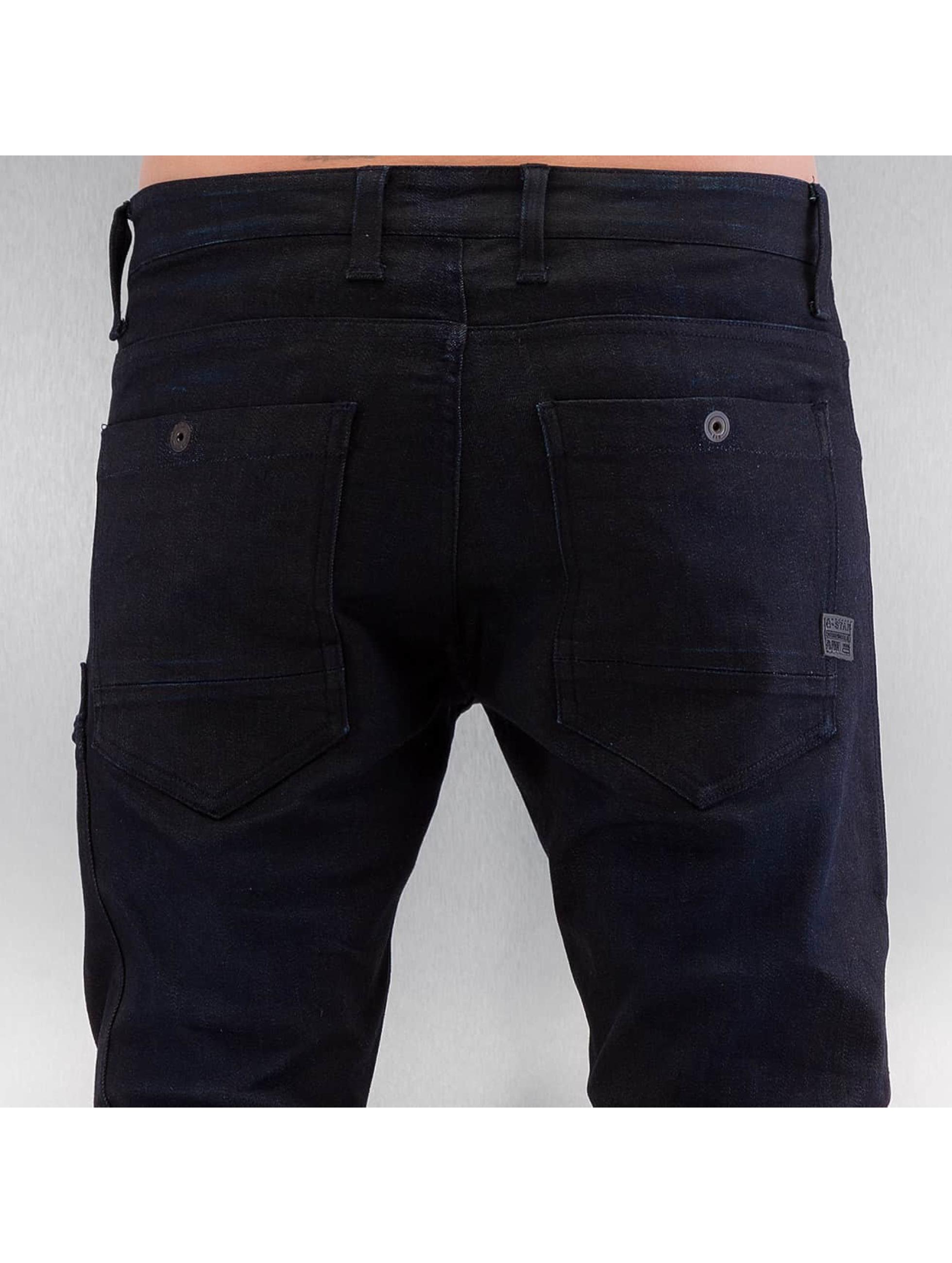 G-Star Slim Fit Jeans Powel Super Slim Visor svart