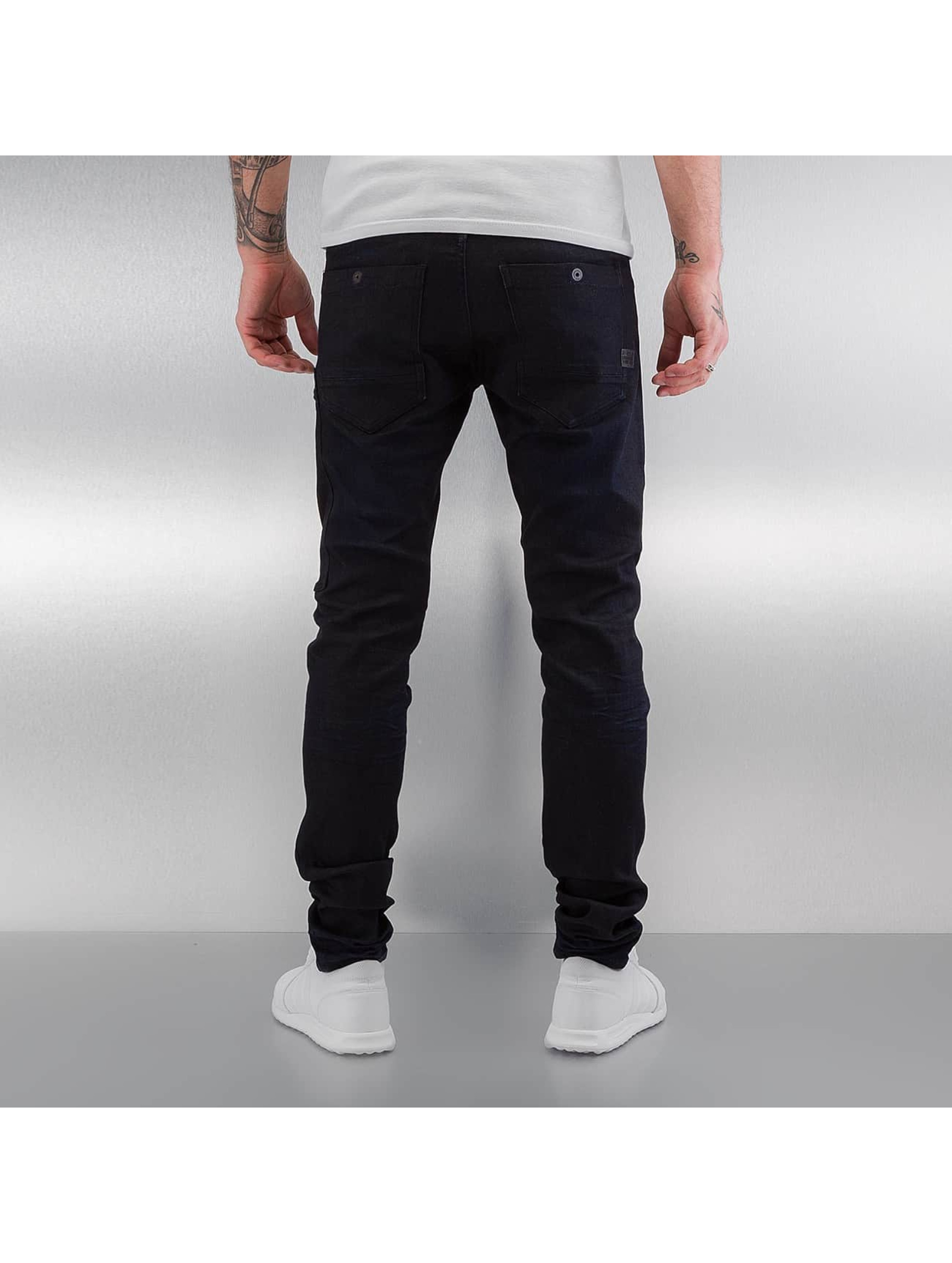 G-Star Slim Fit Jeans Powel Super Slim Visor zwart