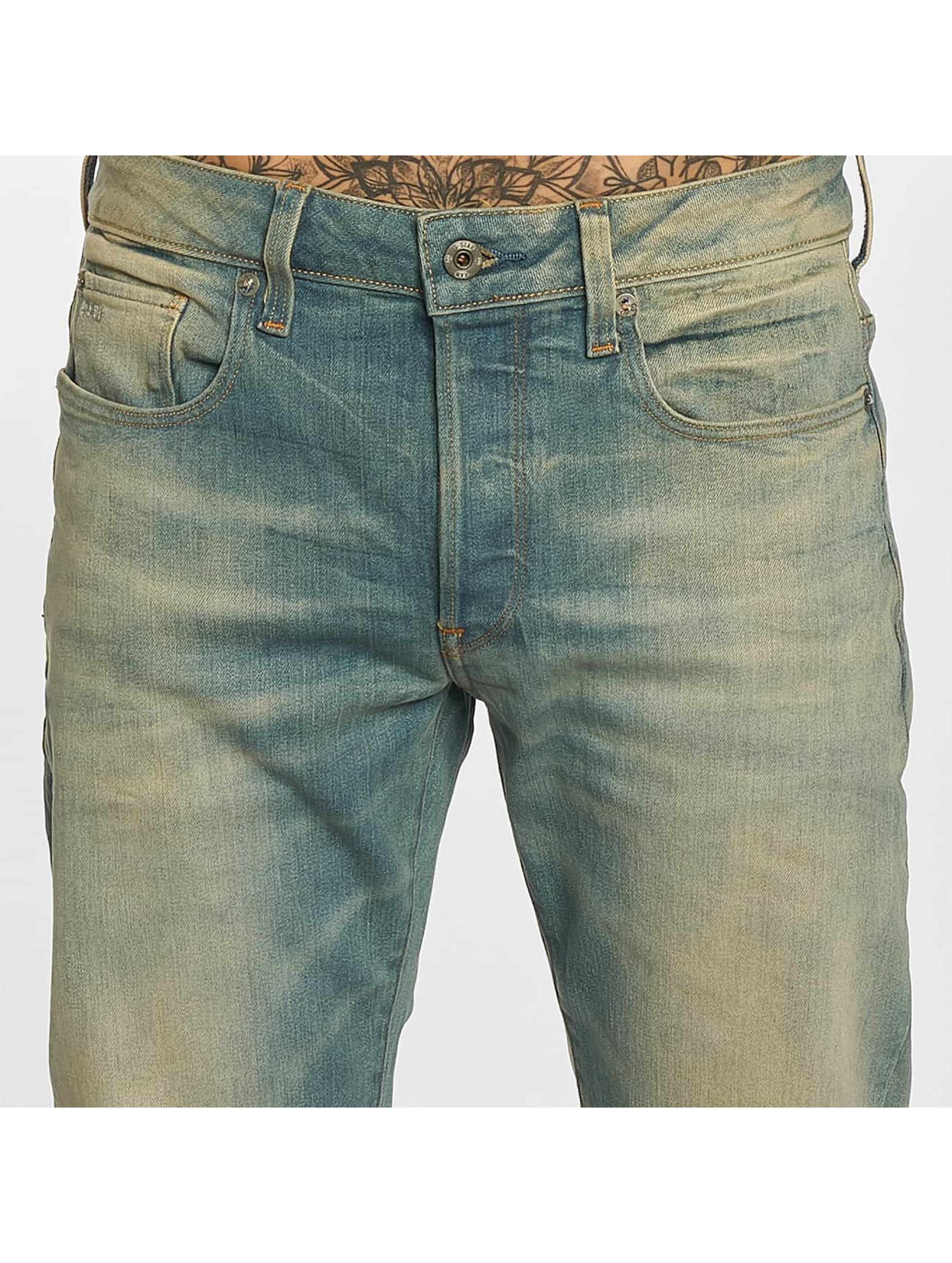 G-Star Straight fit jeans 3301 blauw