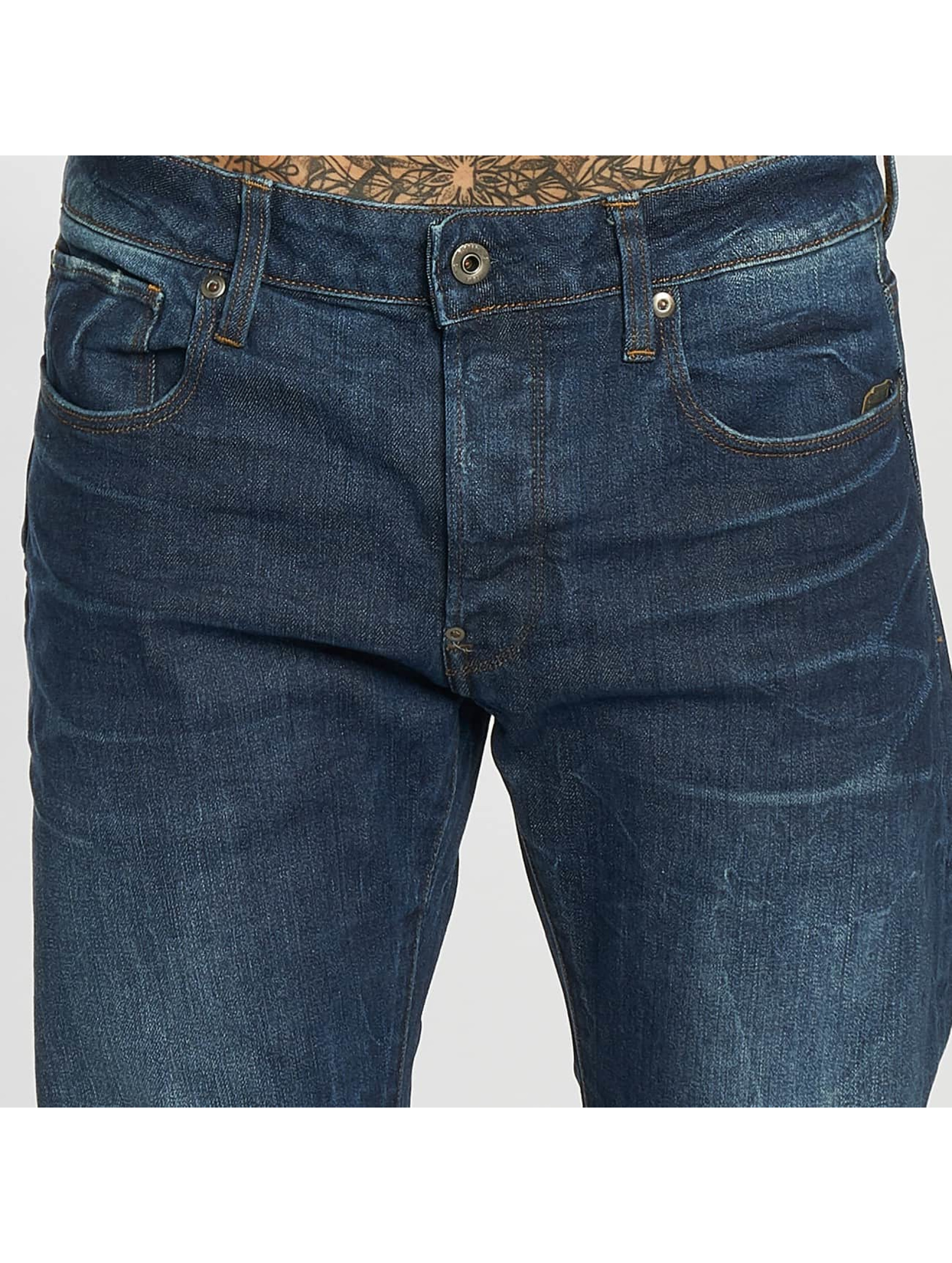 G-Star Straight fit jeans Revend blauw