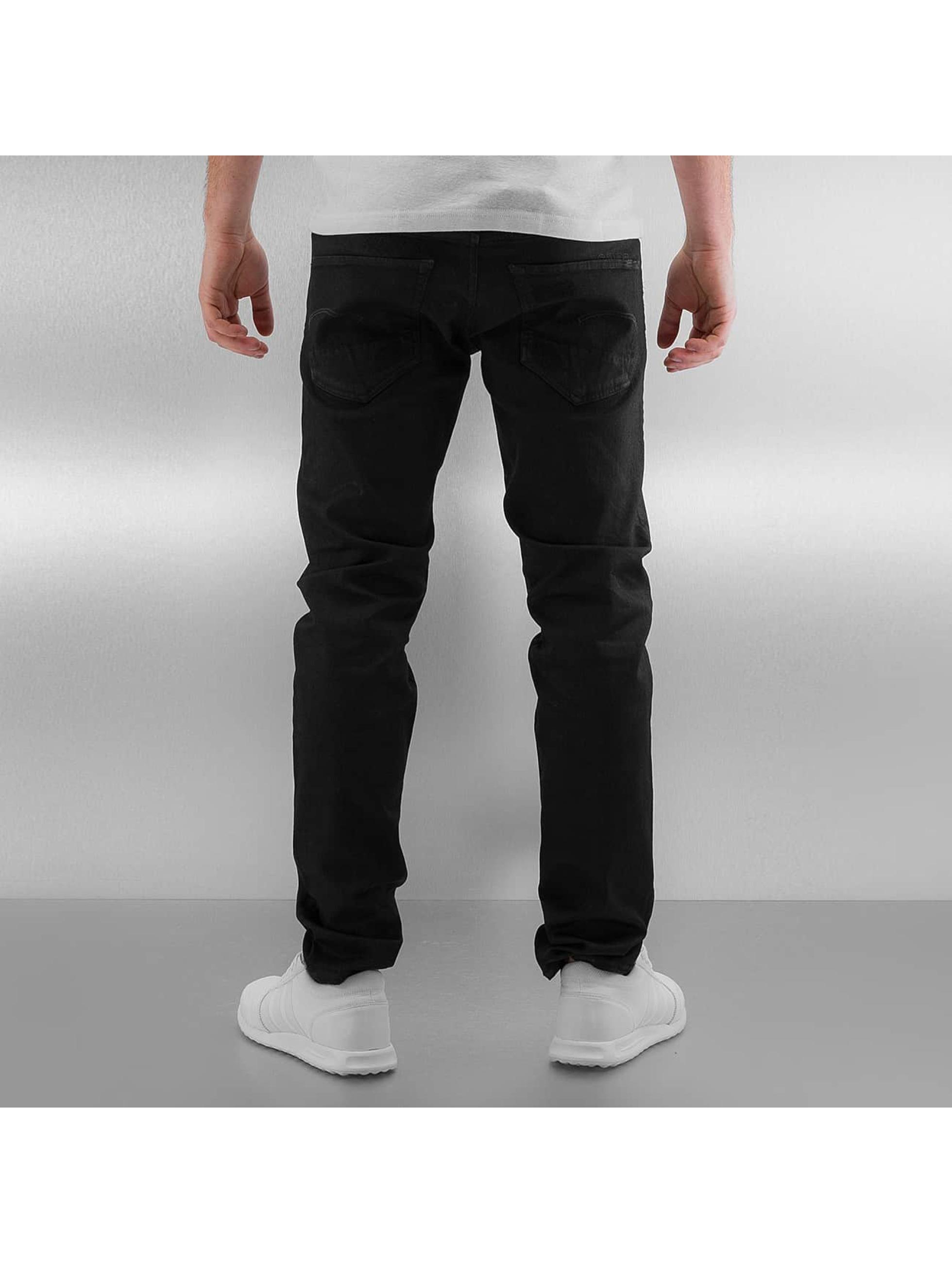G-Star Straight fit jeans 3301 Slim Turner zwart