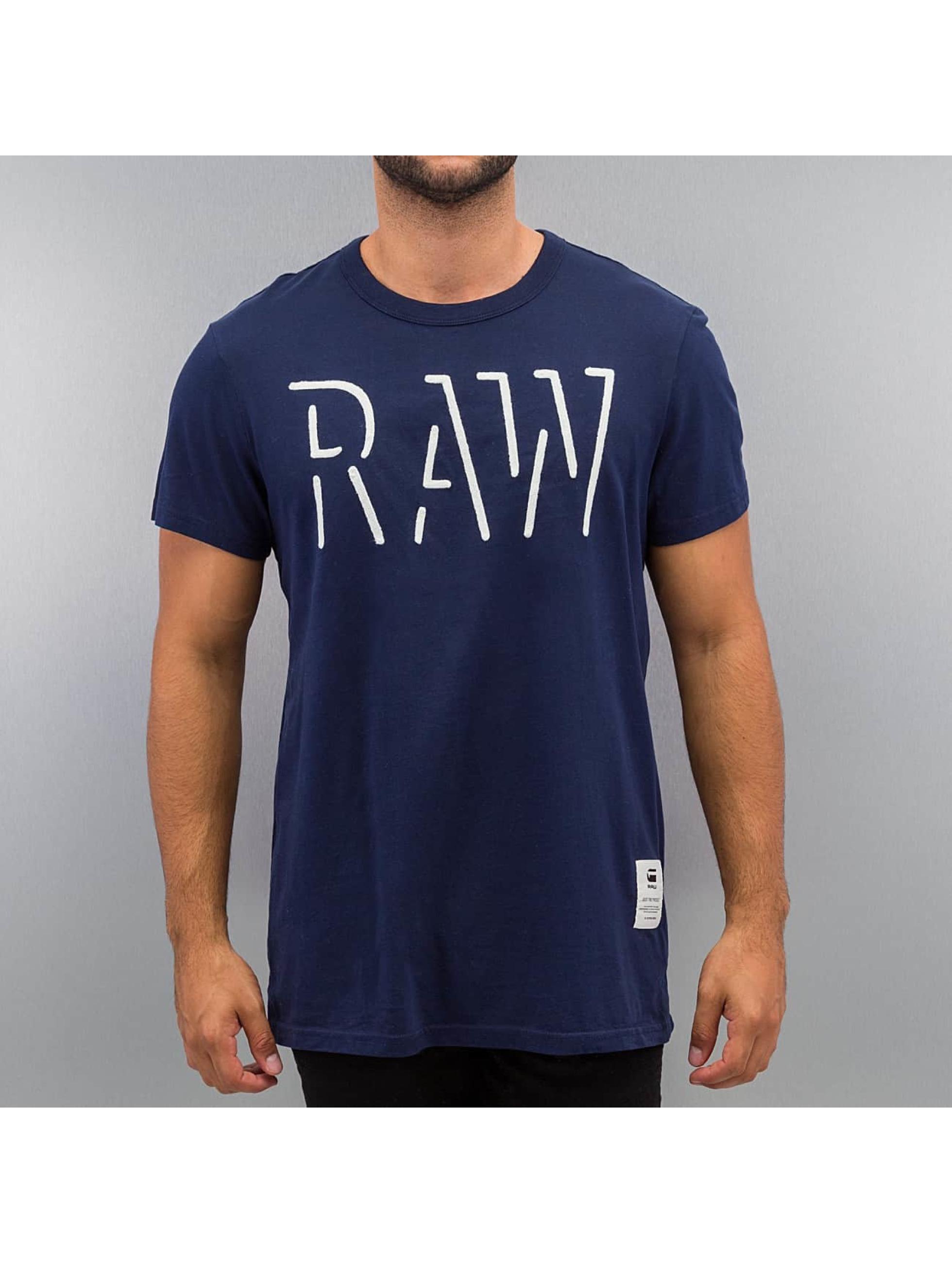 G-Star T-skjorter Oimin blå
