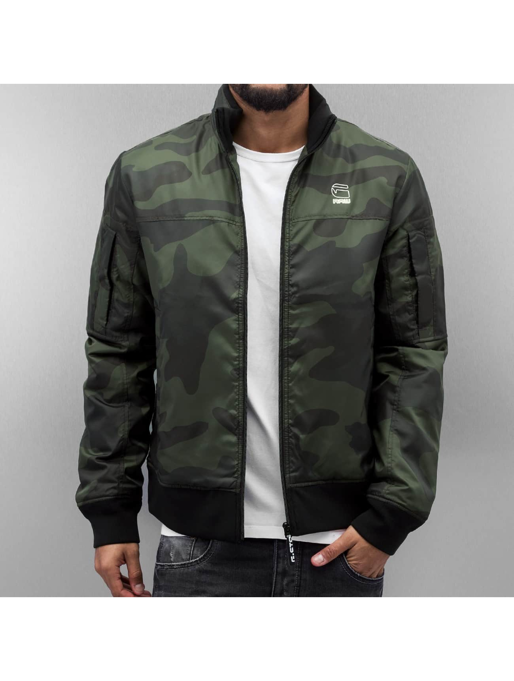 Übergangsjacke Nancor Overshirt in camouflage