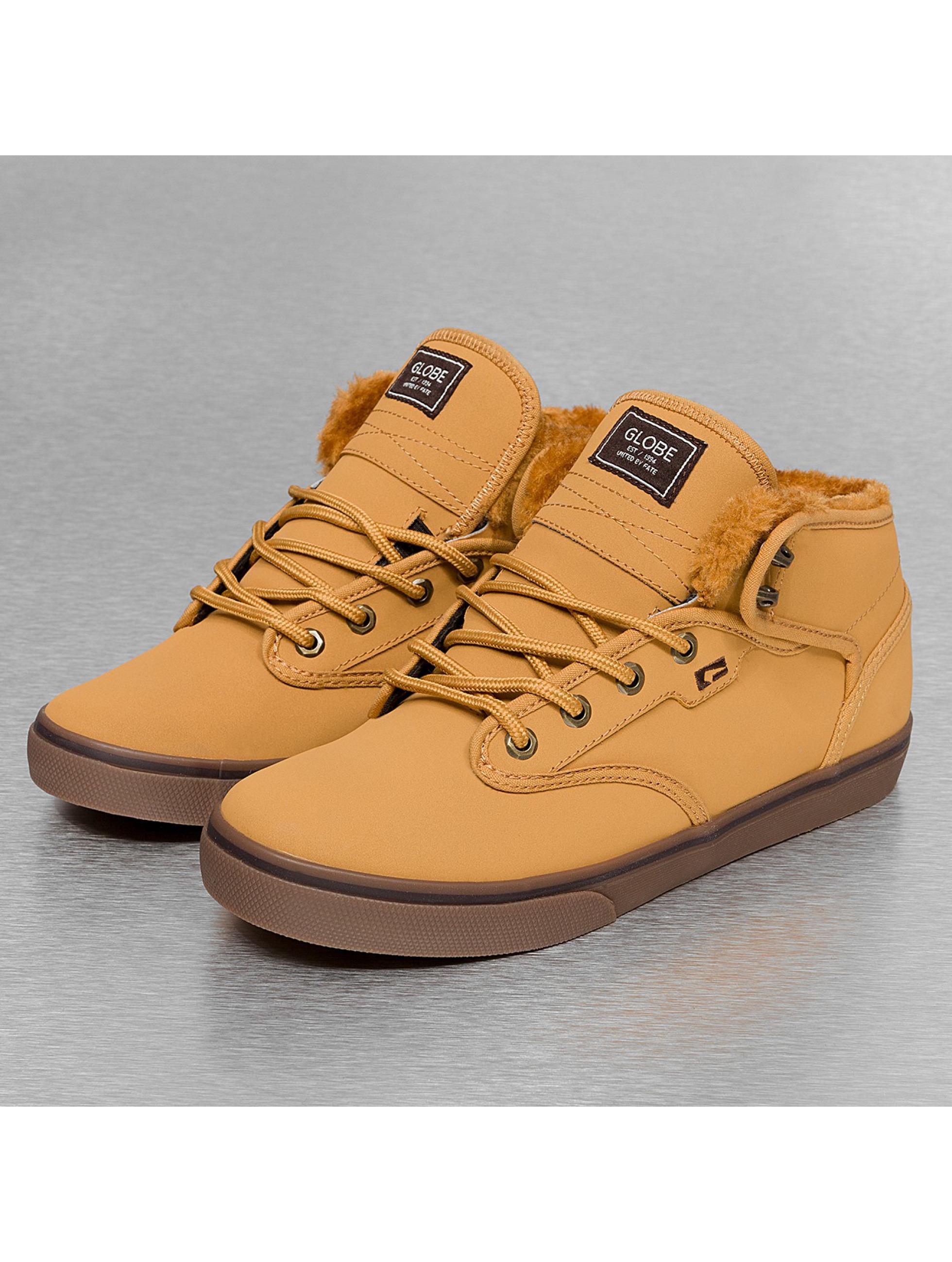 Globe Sneaker Motley Mid braun