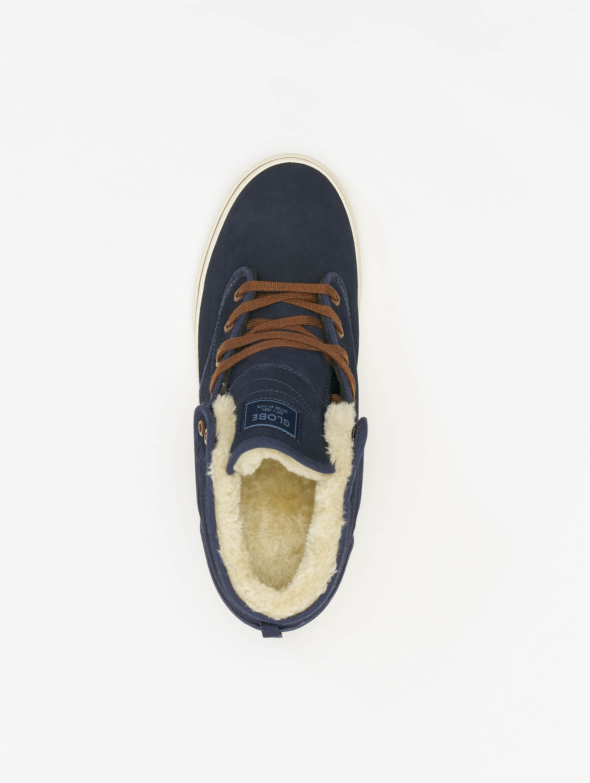 Globe Sneakers Motley Mid niebieski