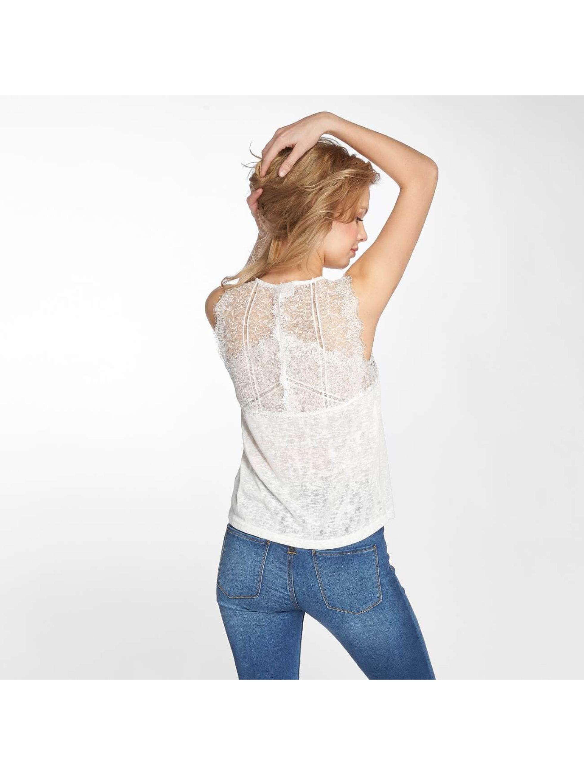Grace & Mila Hihattomat paidat Pepin valkoinen
