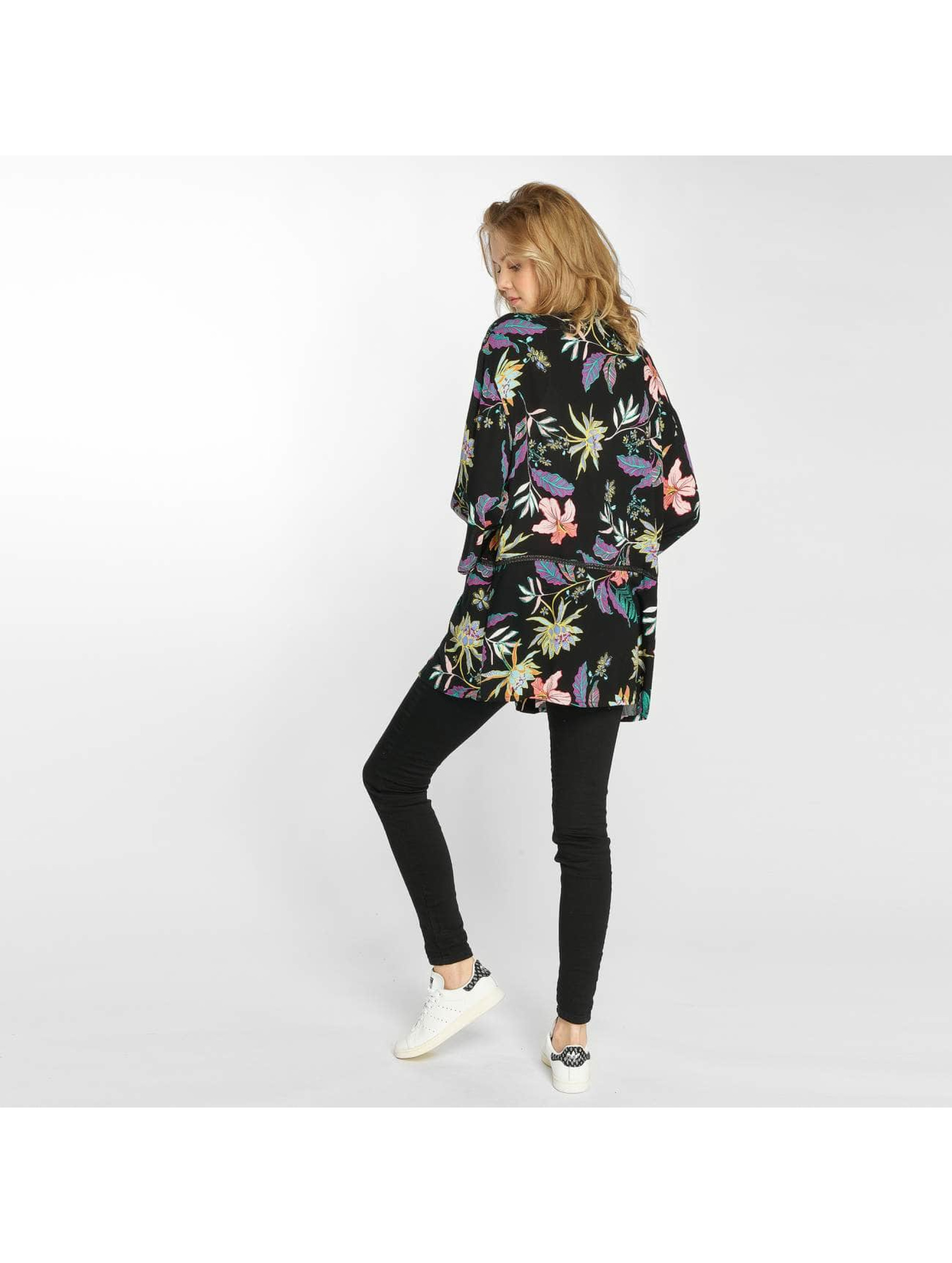 Grace & Mila Swetry rozpinane Petra Kimono czarny
