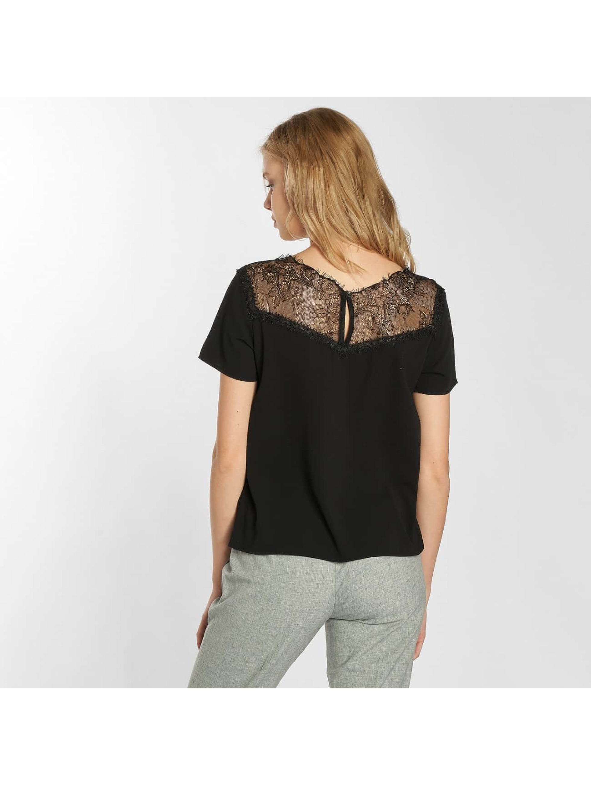 Grace & Mila T-Shirt Peluche schwarz