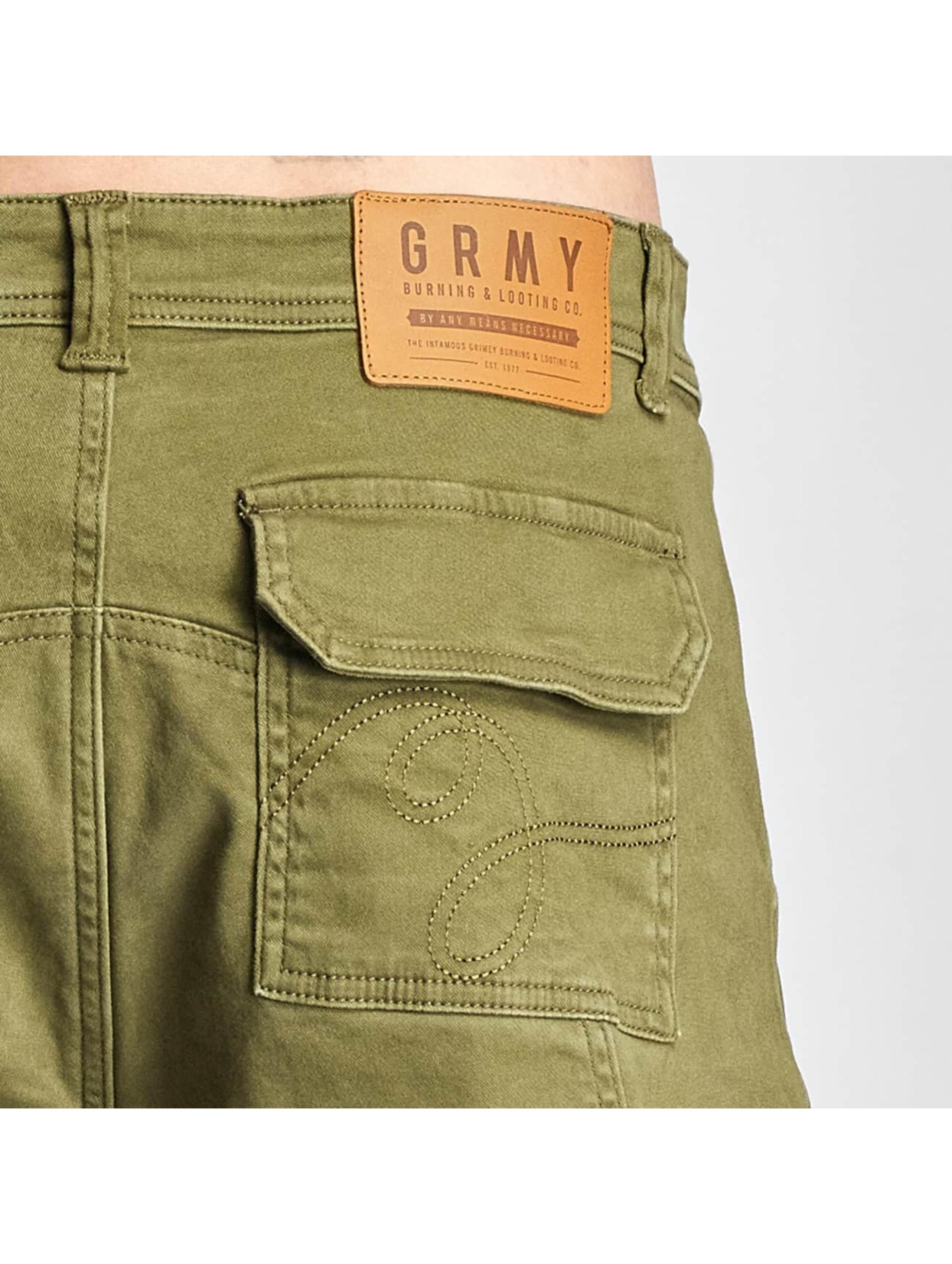 Grimey Wear Šortky Cargo zelená
