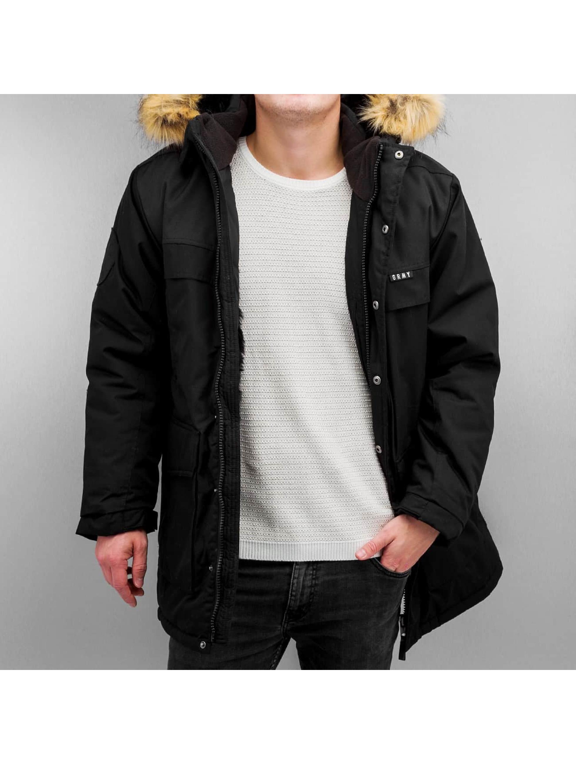 Grimey Wear Зимняя куртка Smoky Alley черный