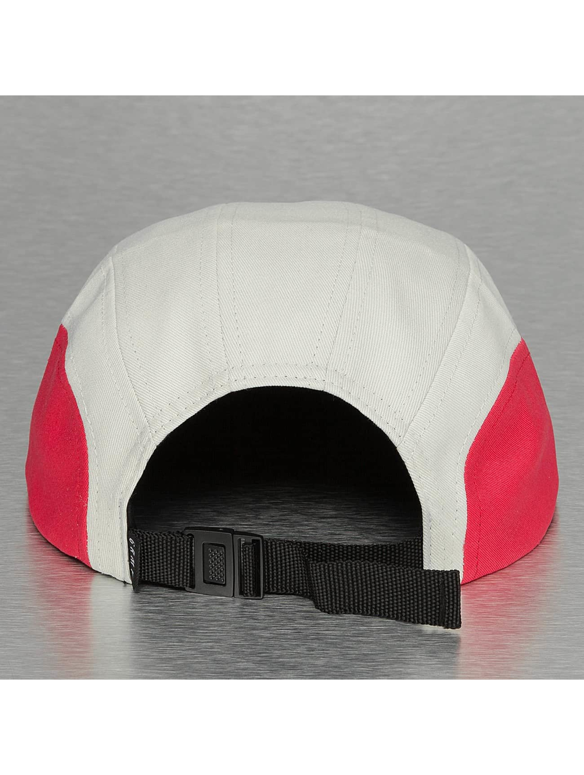 Grimey Wear 5 Panel Caps Rock Creek biela
