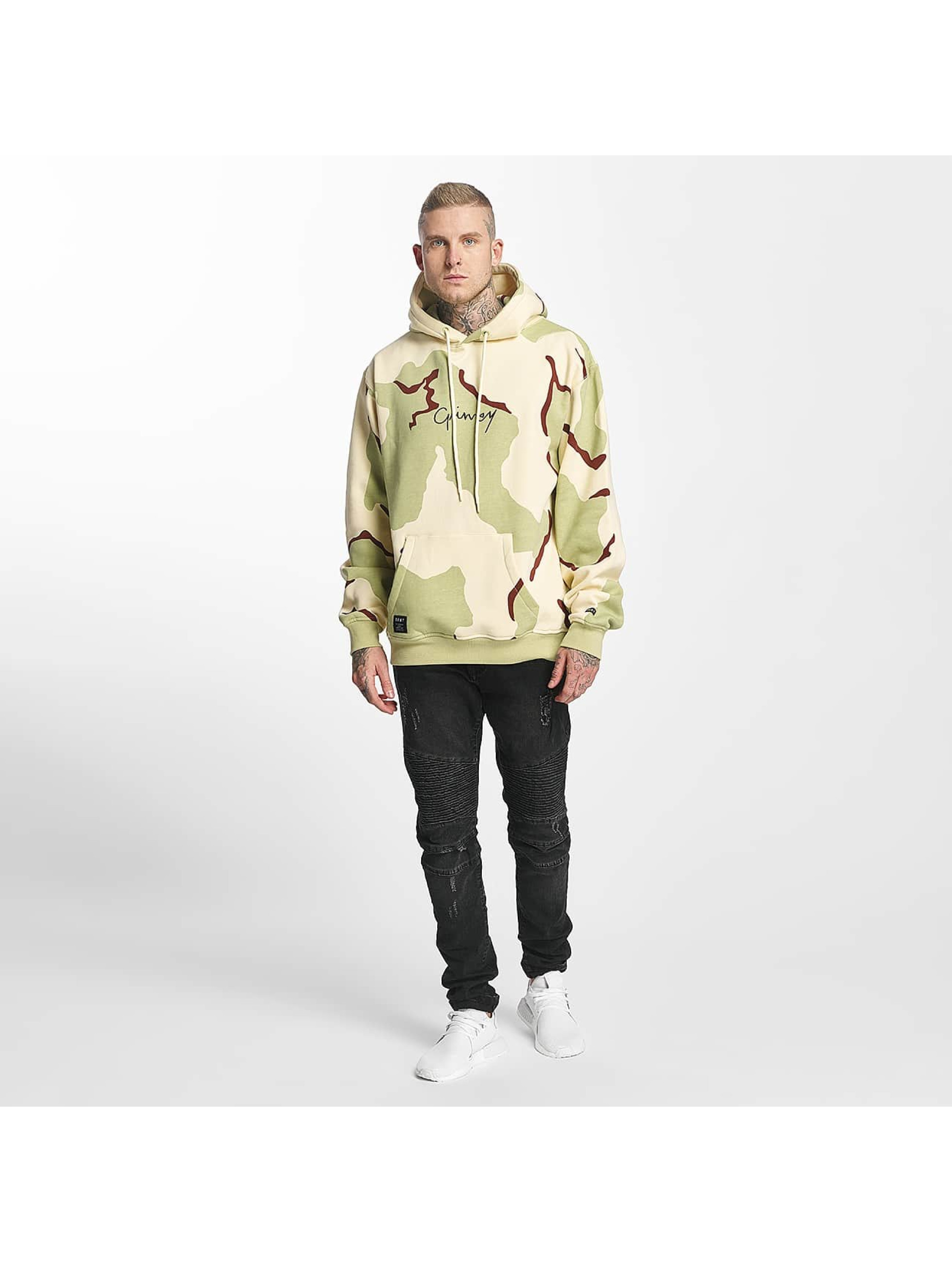 Grimey Wear Hoody Natural Camo camouflage