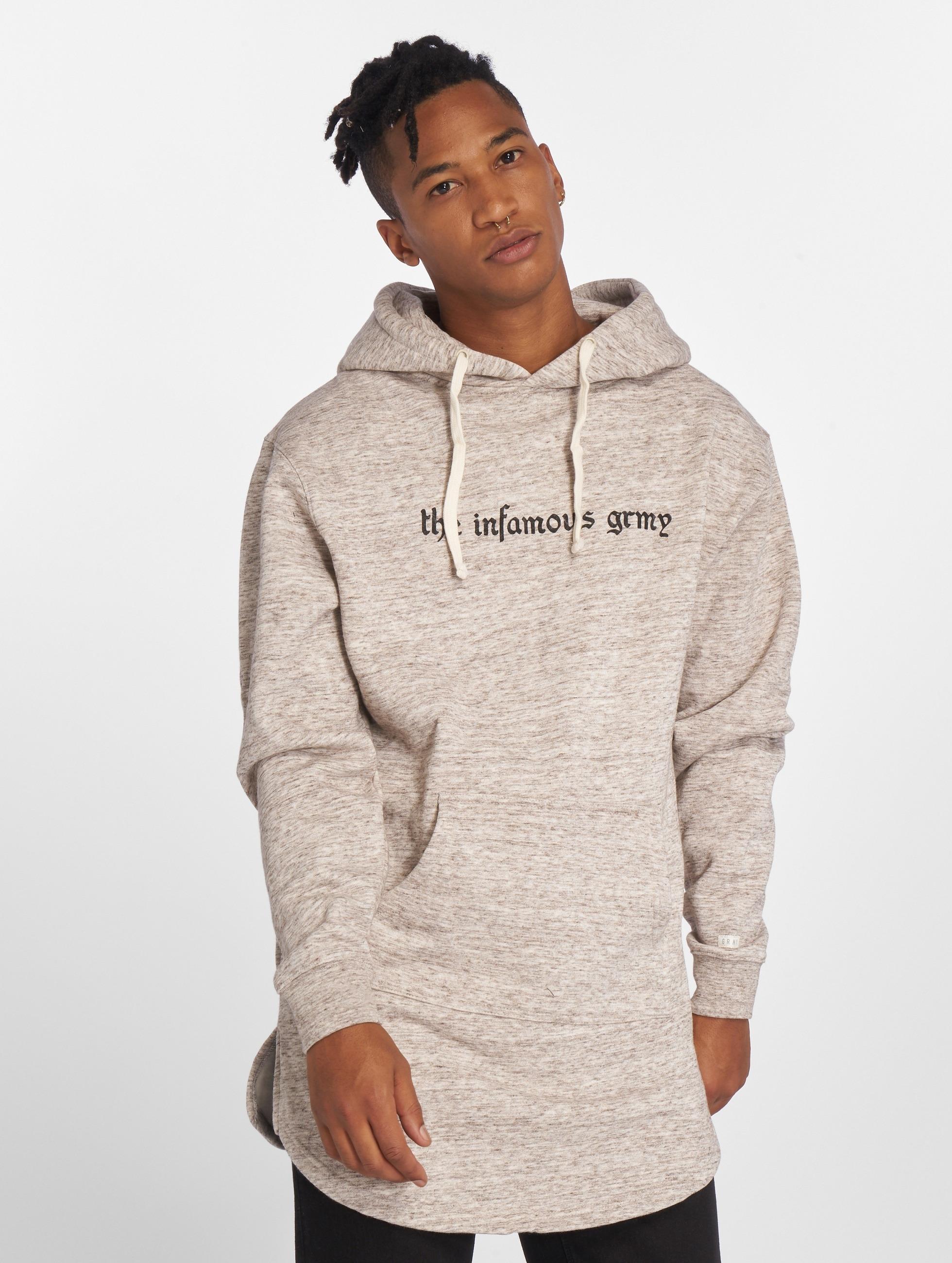 Grimey Wear Hoody Hi Jack grau