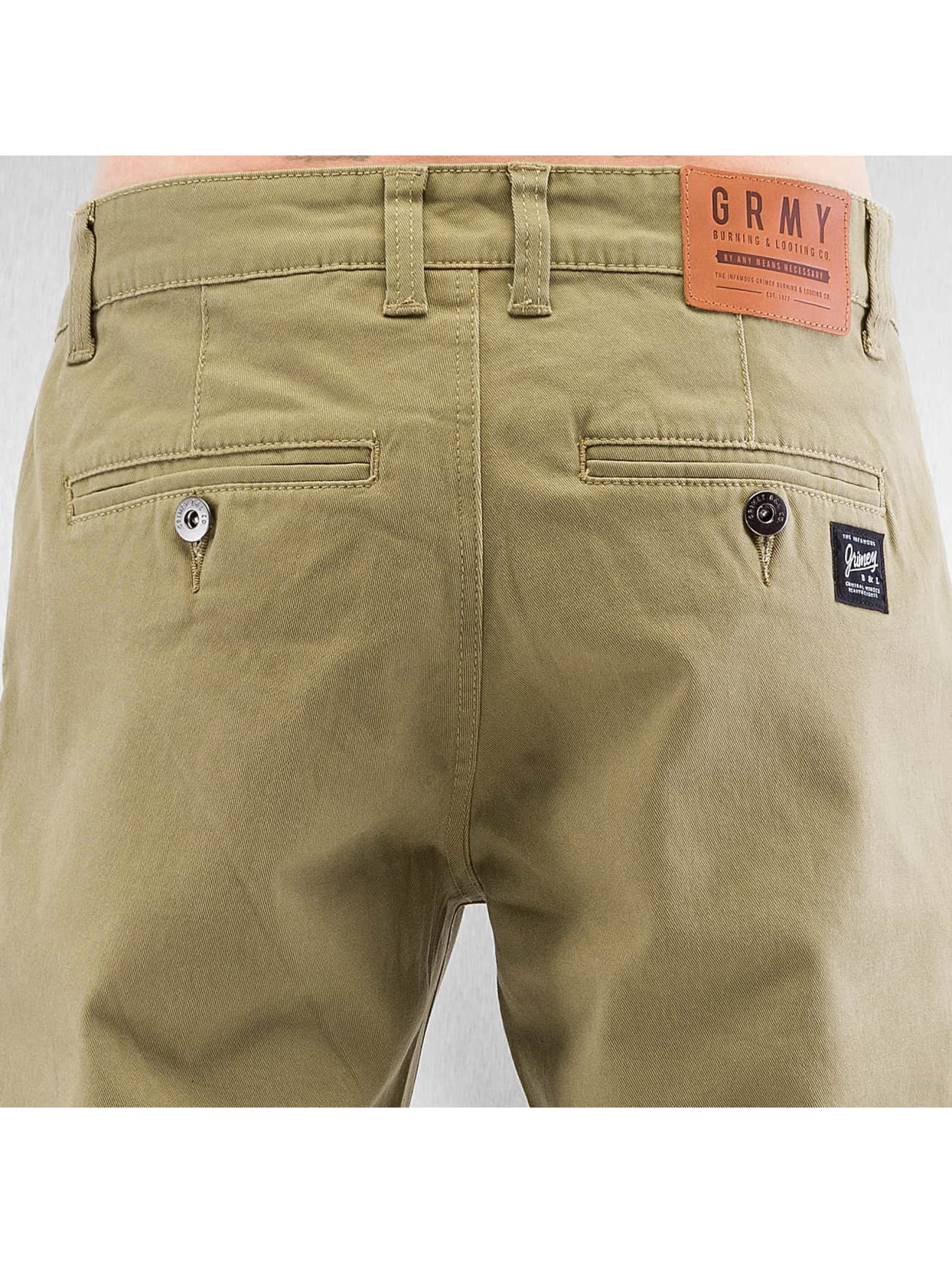 Grimey Wear joggingbroek Twill Peach beige